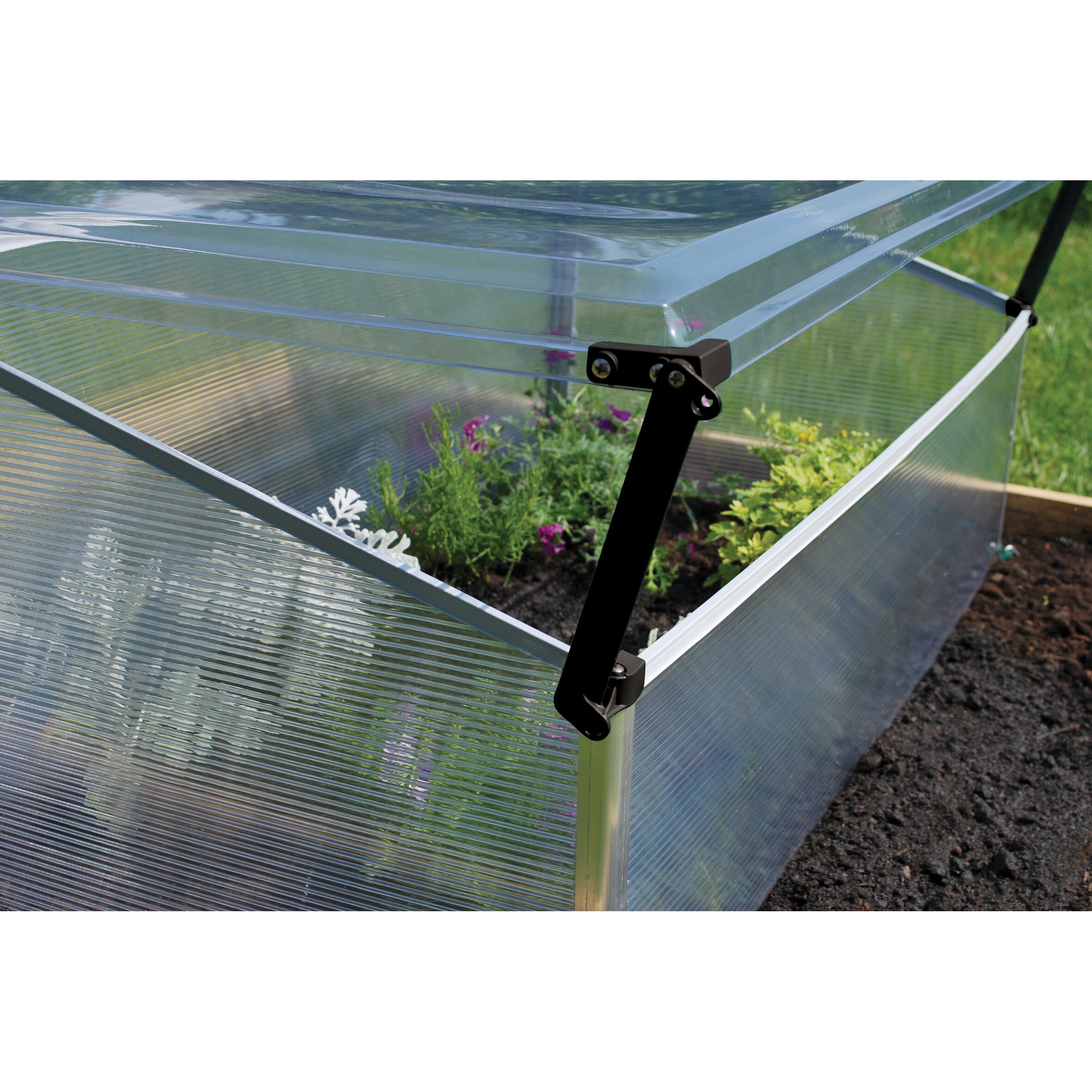 Palram 3.42 Ft. W X 2 Ft. D Cold-Frame Greenhouse