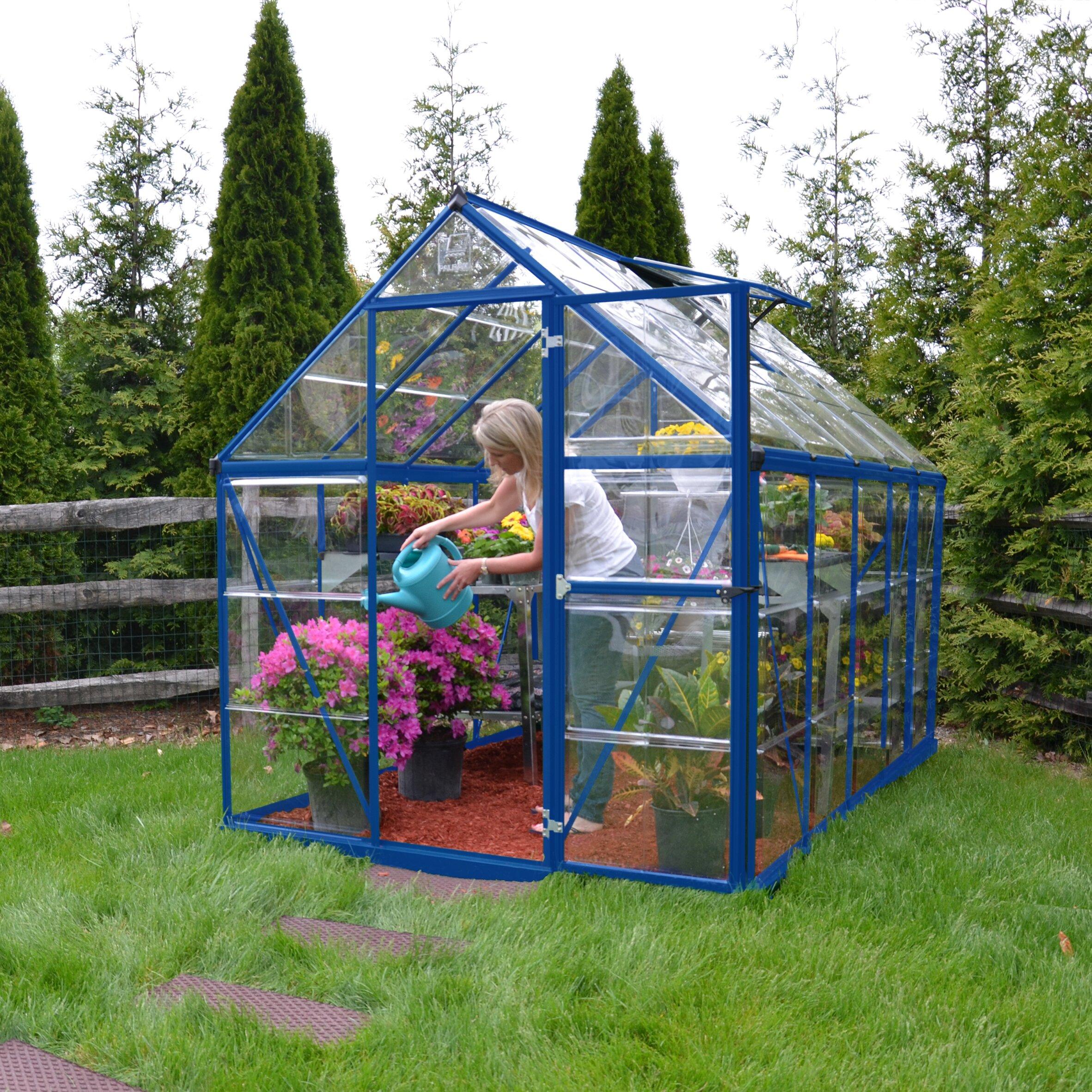 Palram Harmony 6 Ft. X 10 Ft. Greenhouse