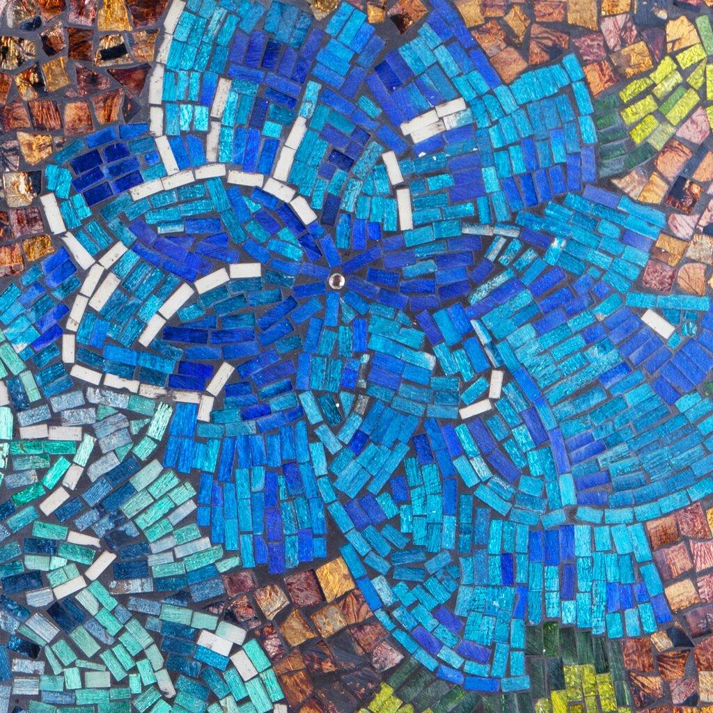 River Of Goods Dahlias Mosaic Wall Décor & Reviews