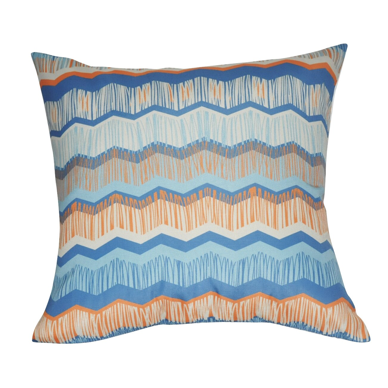 Loom and Mill Chervon Decorative Throw Pillow Wayfair