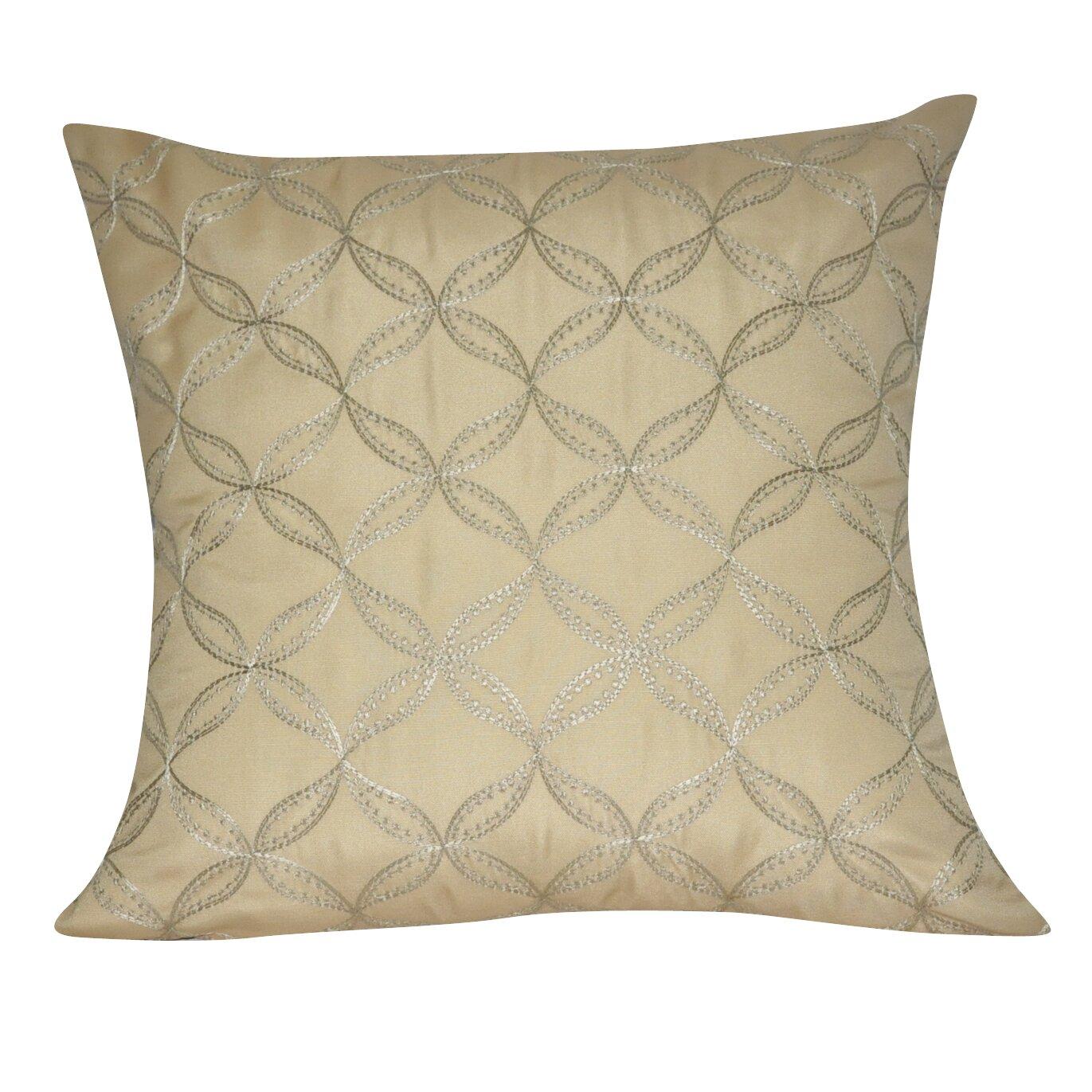 Wayfair Decorative Throw Pillows : Loom and Mill Circles Decorative Throw Pillow & Reviews Wayfair