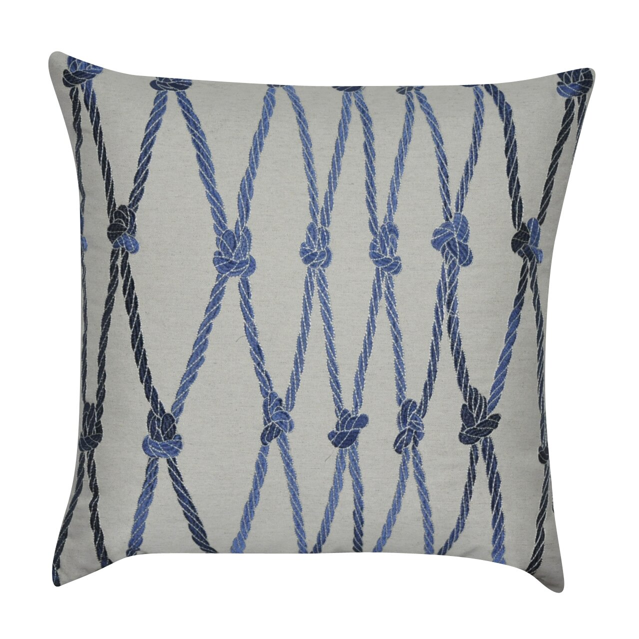 Loom And Mill Ropes Decorative Cotton Throw Pillow Wayfair