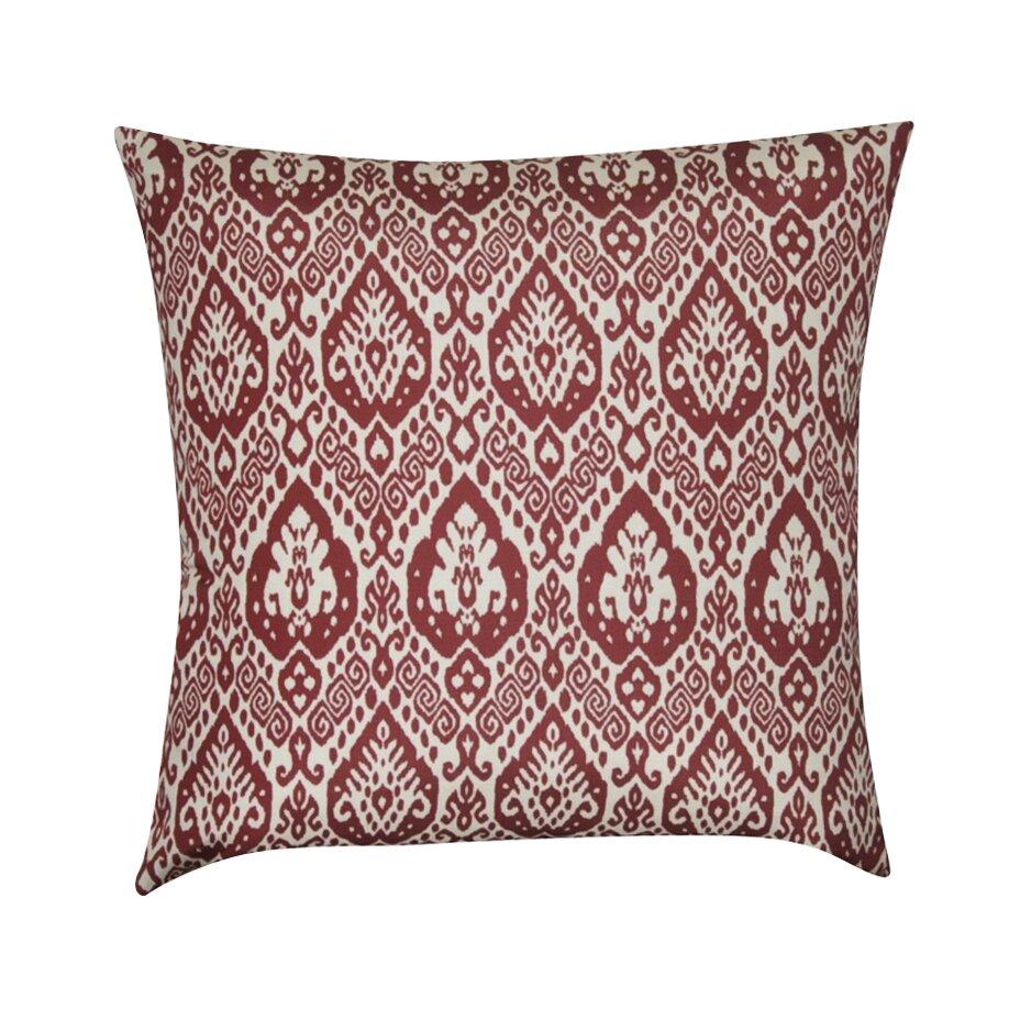 Damask Throw Pillows Black White : Loom and Mill Damask Decorative Throw Pillow & Reviews Wayfair