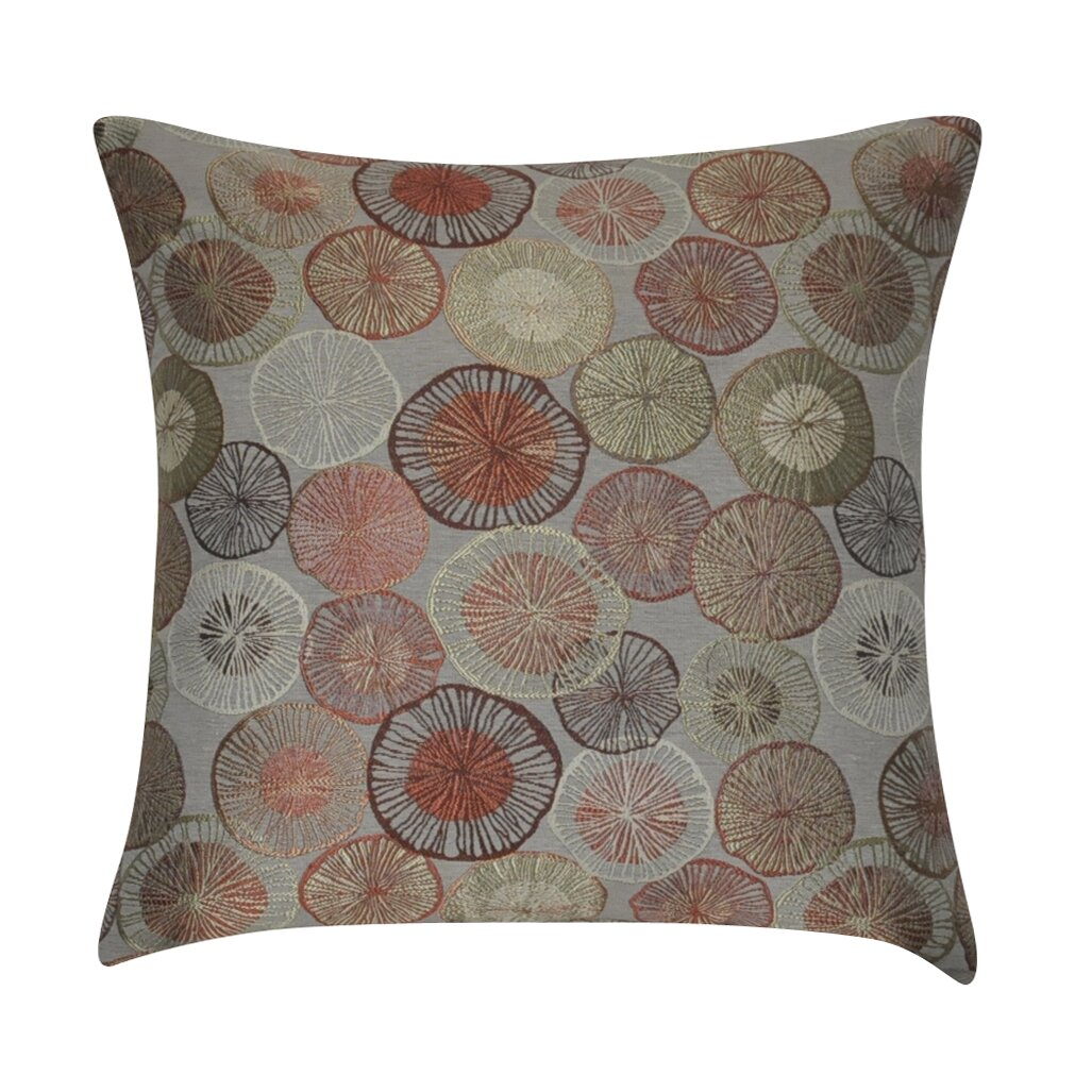 Decorative Pillows With Circles : Loom and Mill Circles Decorative Throw Pillow & Reviews Wayfair