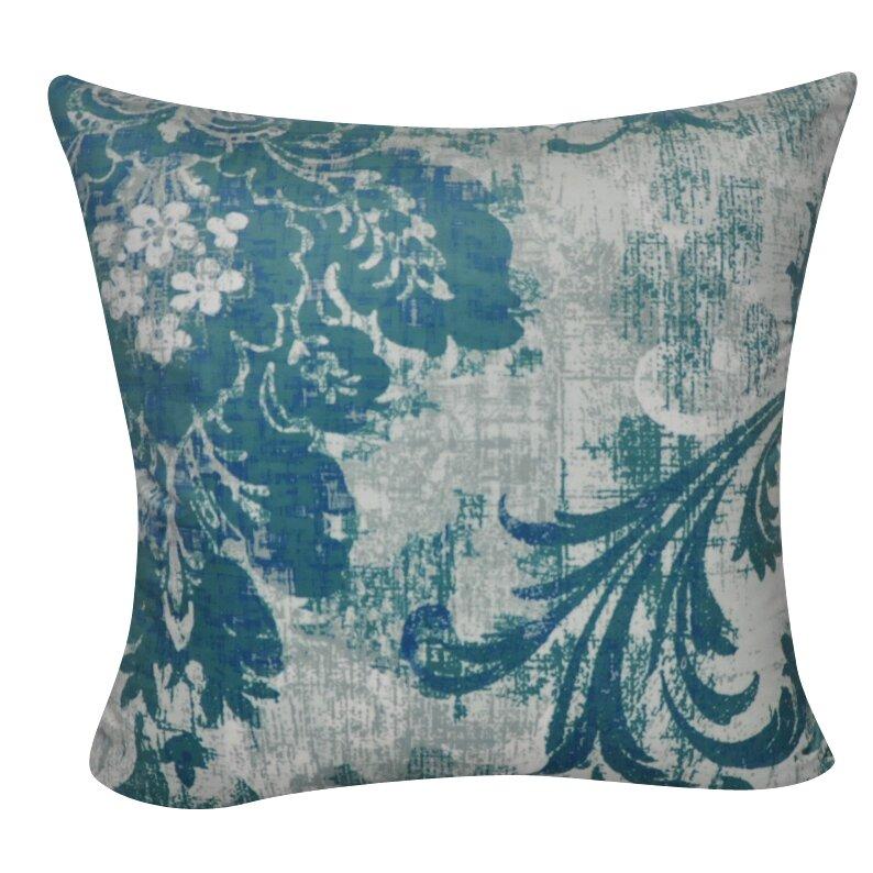 Throw Pillows Damask : Loom and Mill Damask Decorative Throw Pillow Wayfair