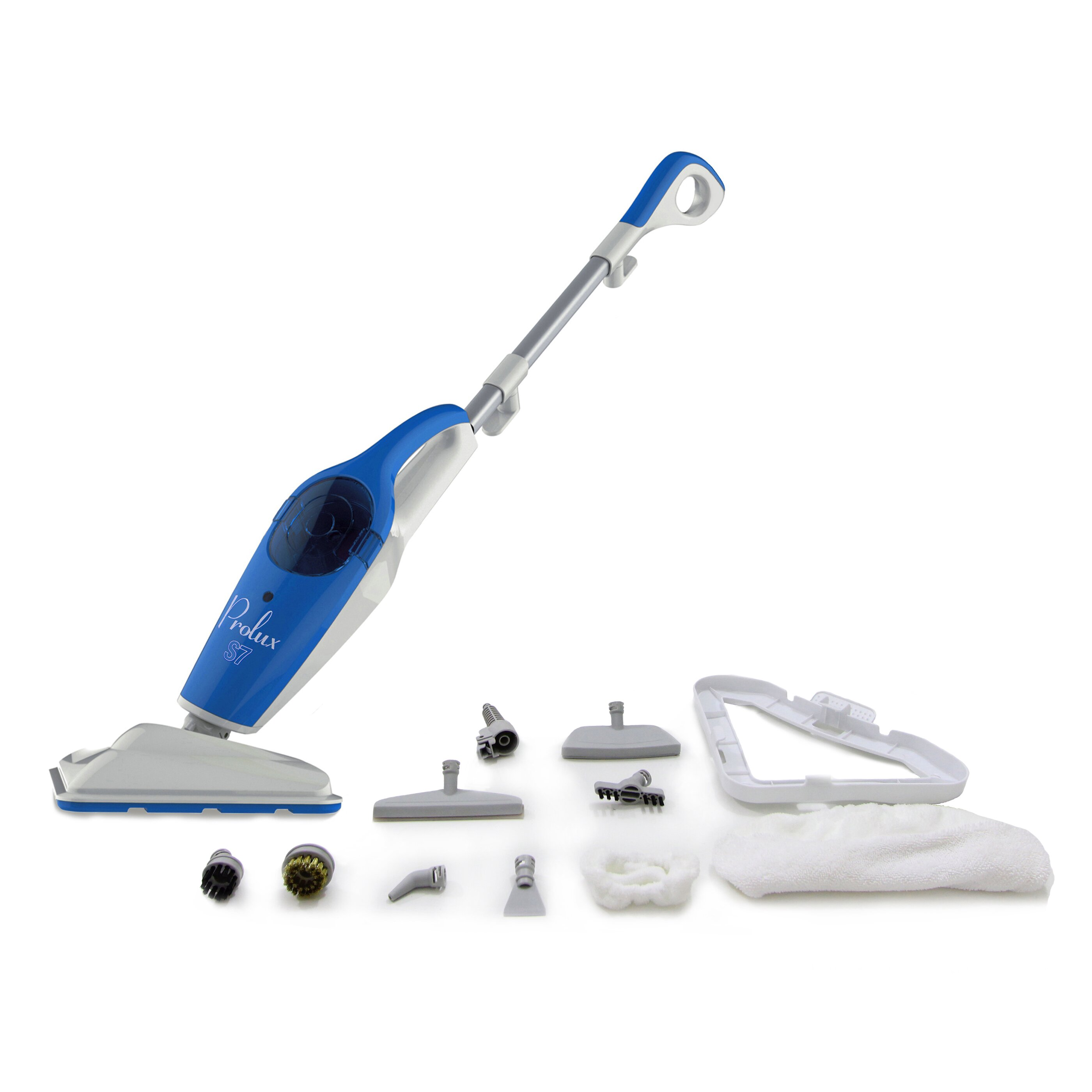 Prolux steam mop 7 in 1 h2o multi surface cleaner for Steam mop 17 in 1