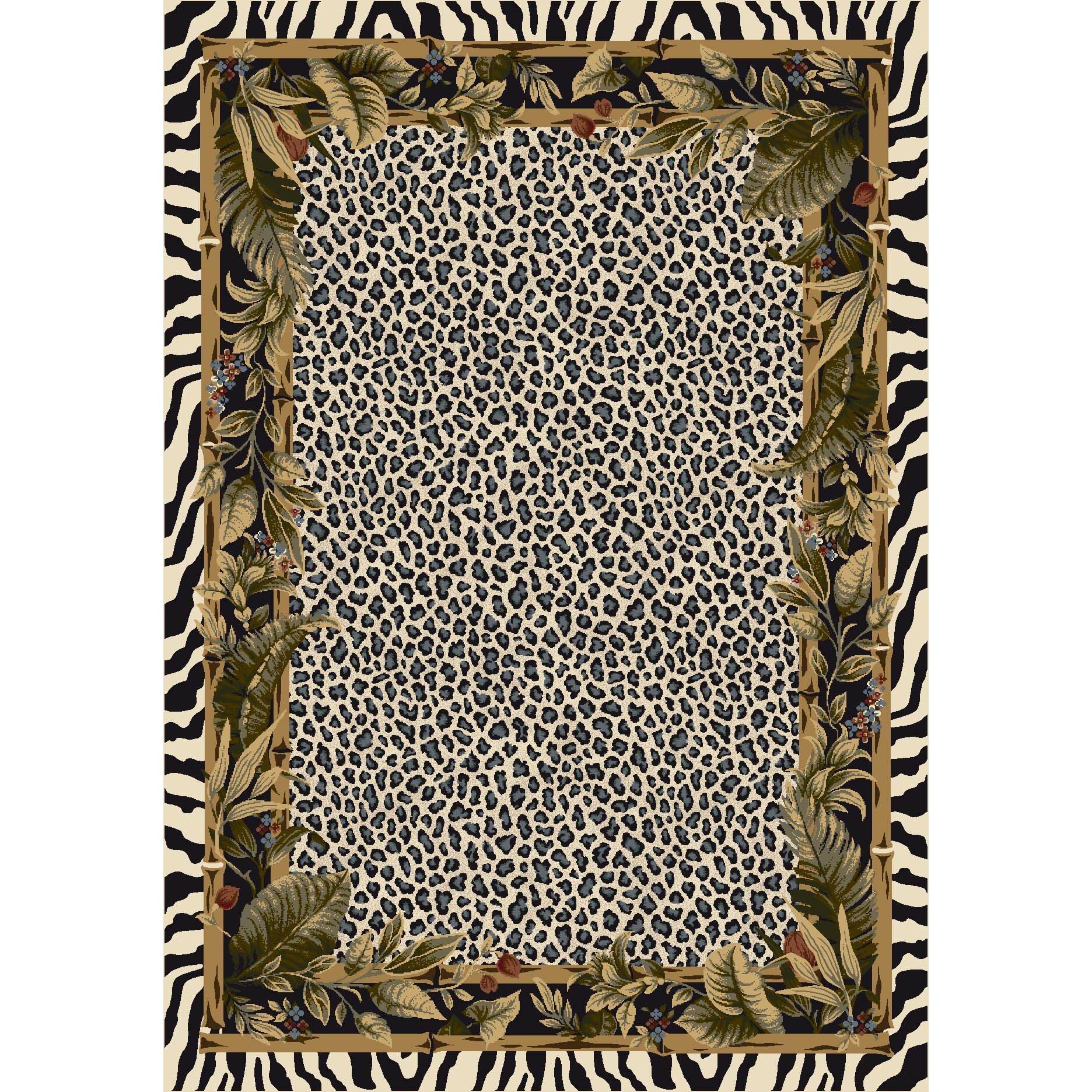 Animal Print Rug Wayfair: Milliken Signature Jungle Safari Snow Leopard Area Rug