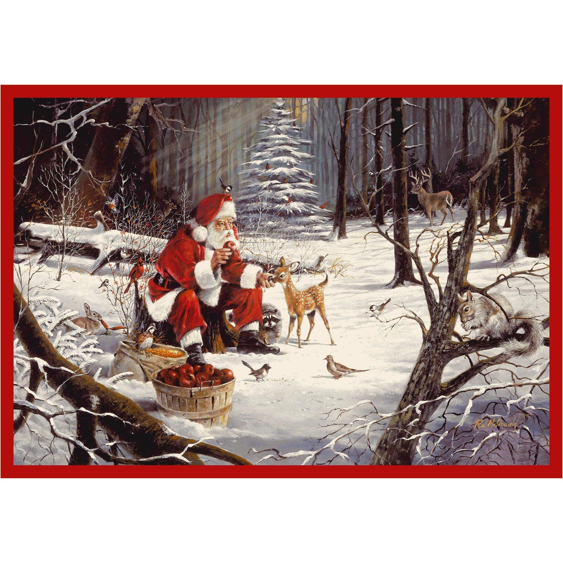 Milliken RJ McDonald Christmas Party Area Rug & Reviews