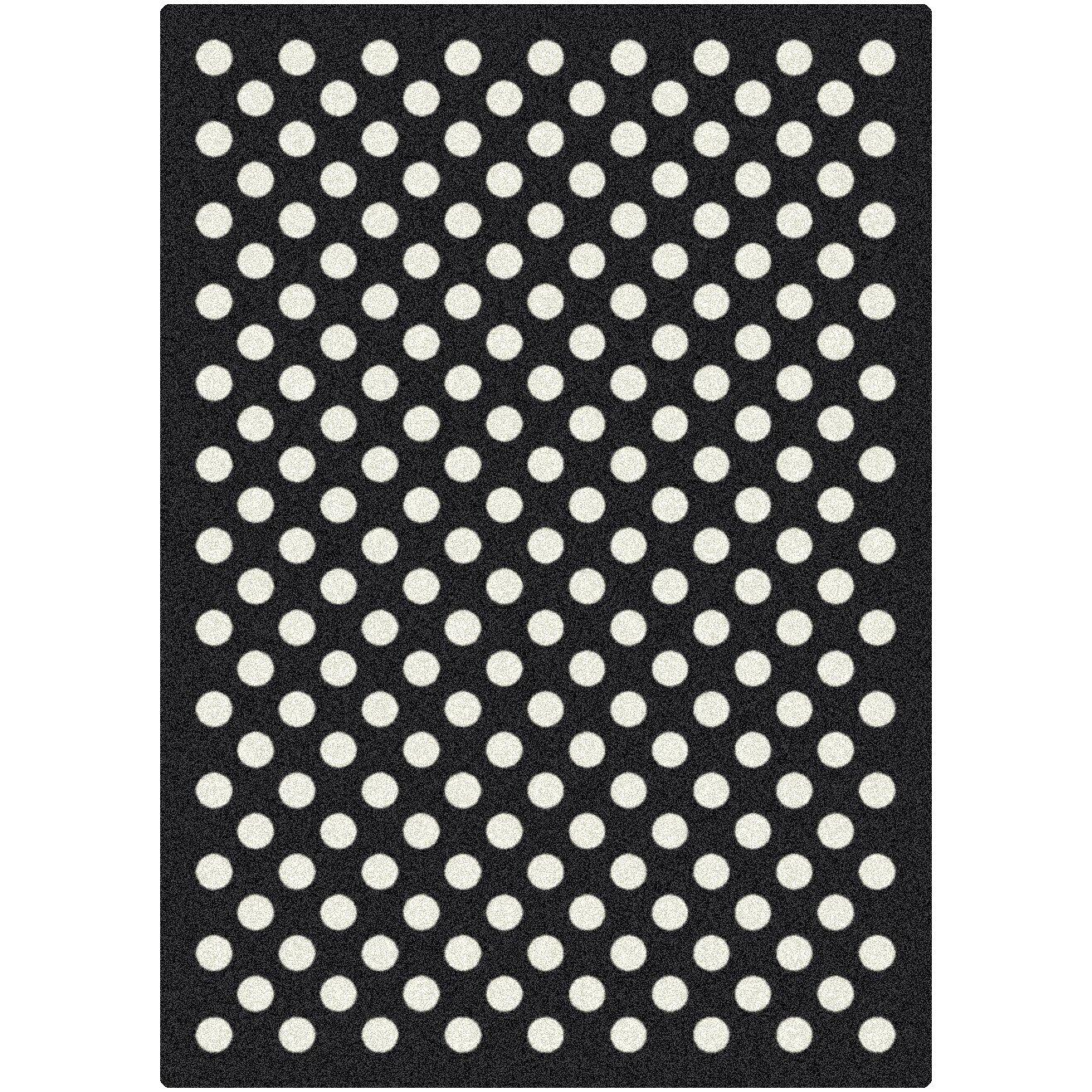 Black And White Floor Rug: Milliken Eclipse Nightfall Black/White Area Rug & Reviews