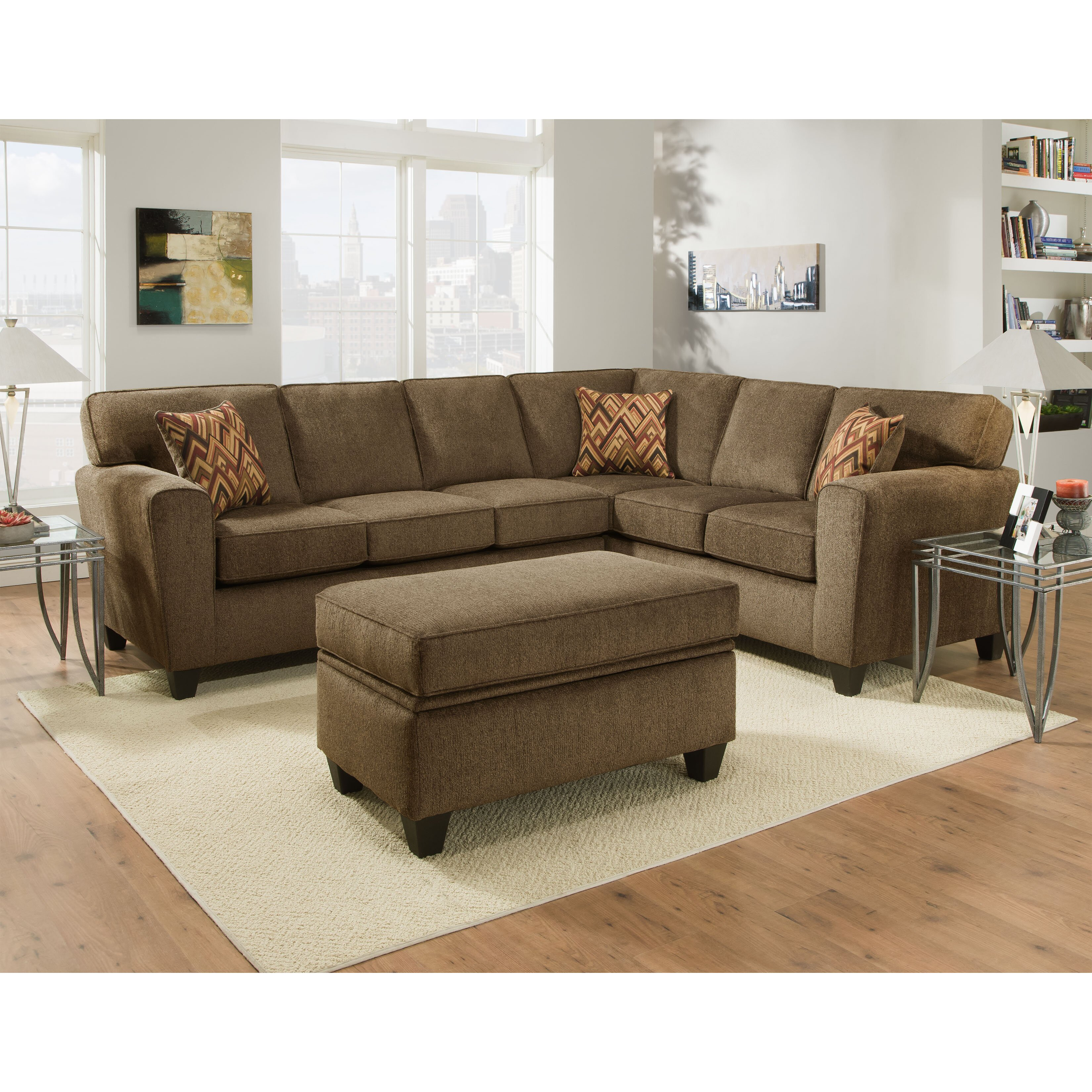 Brady Furniture Industries Pulaski Sectional