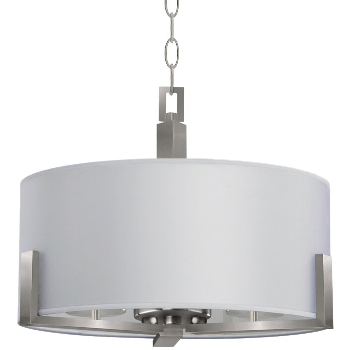 whitfield lighting jaelyn 3 light drum chandelier chandeliers pendants wayfair drum lighting