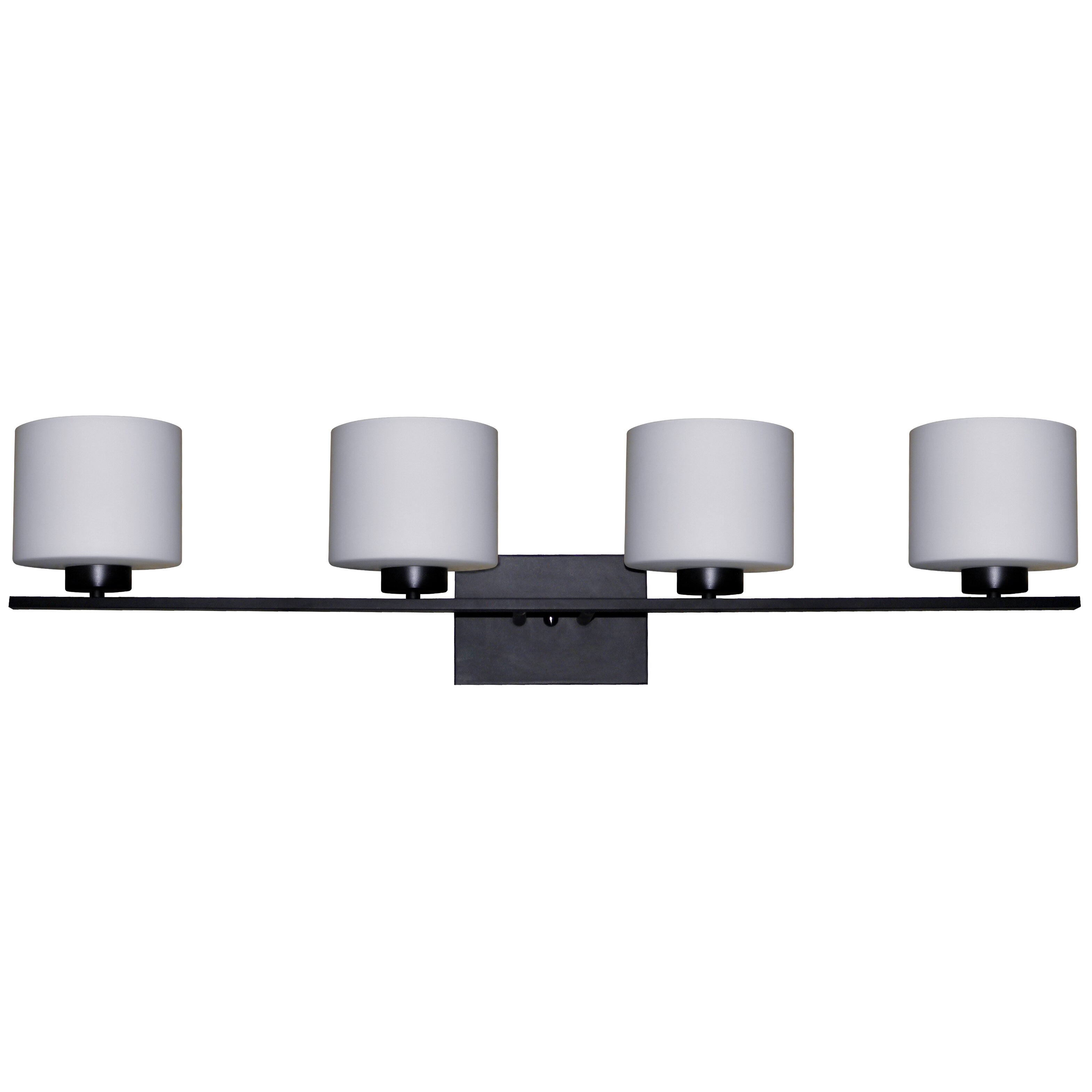 Whitfield Lighting Jaelyn 4 Light Bathroom Vanity Light Reviews Wayfair