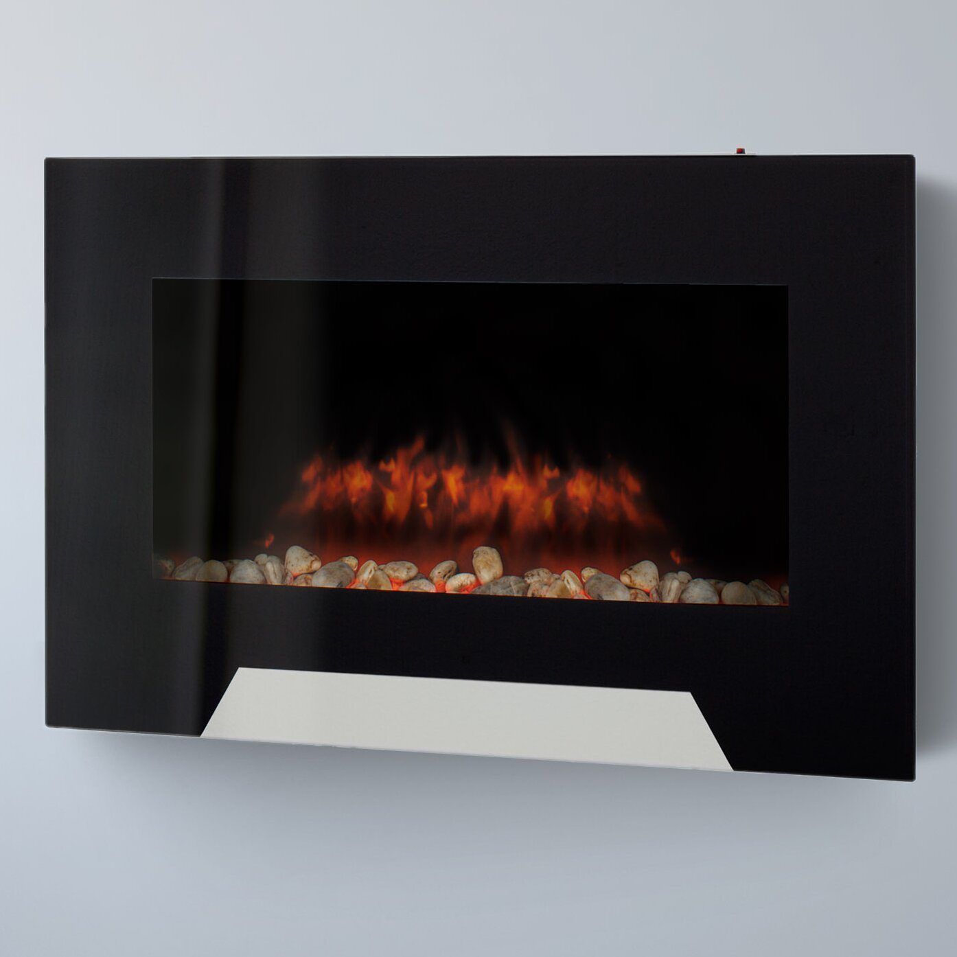 Corliving Wall Mount Electric Fireplace Reviews Wayfair