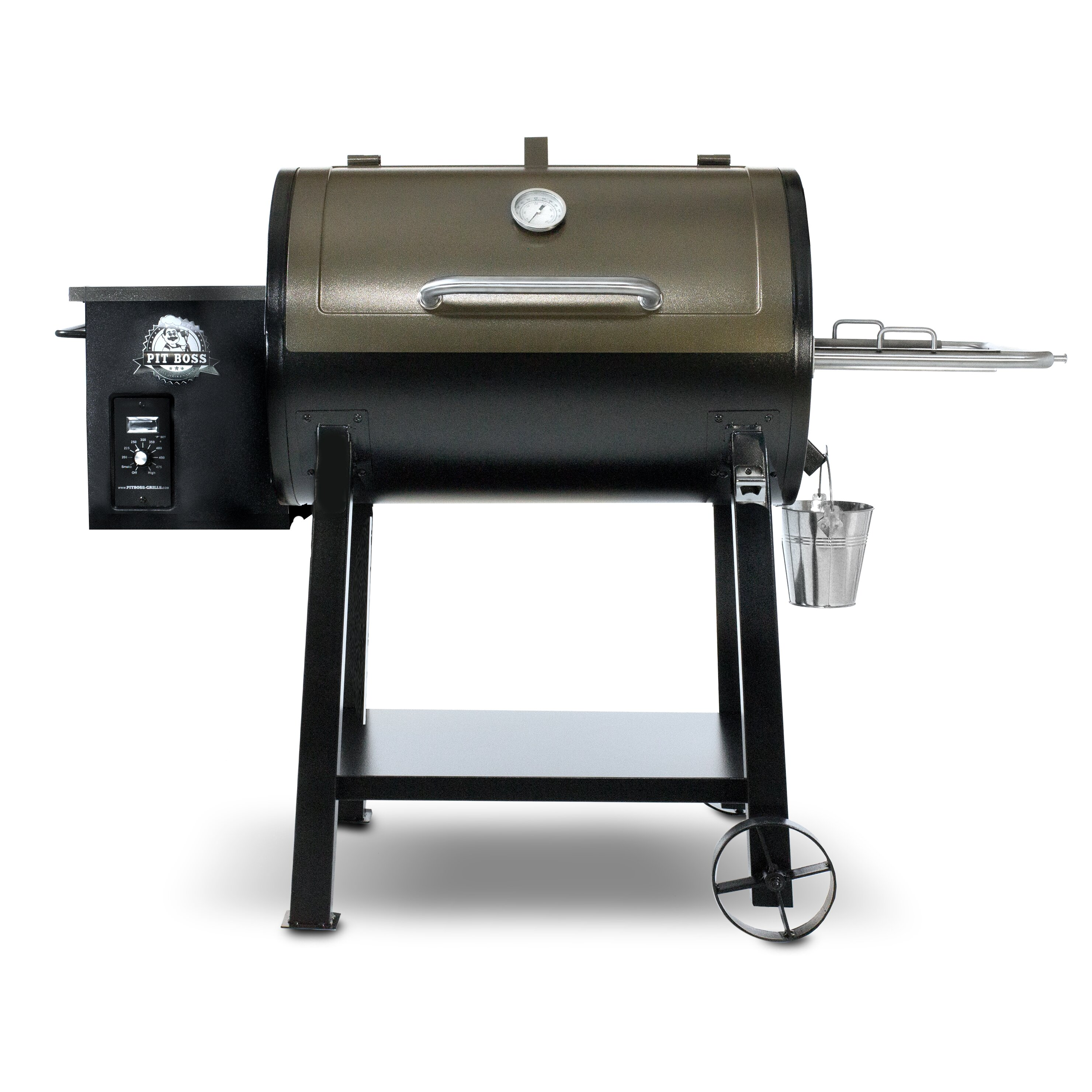 Pit Boss 47 Quot Wood Pellet Grill Wayfair