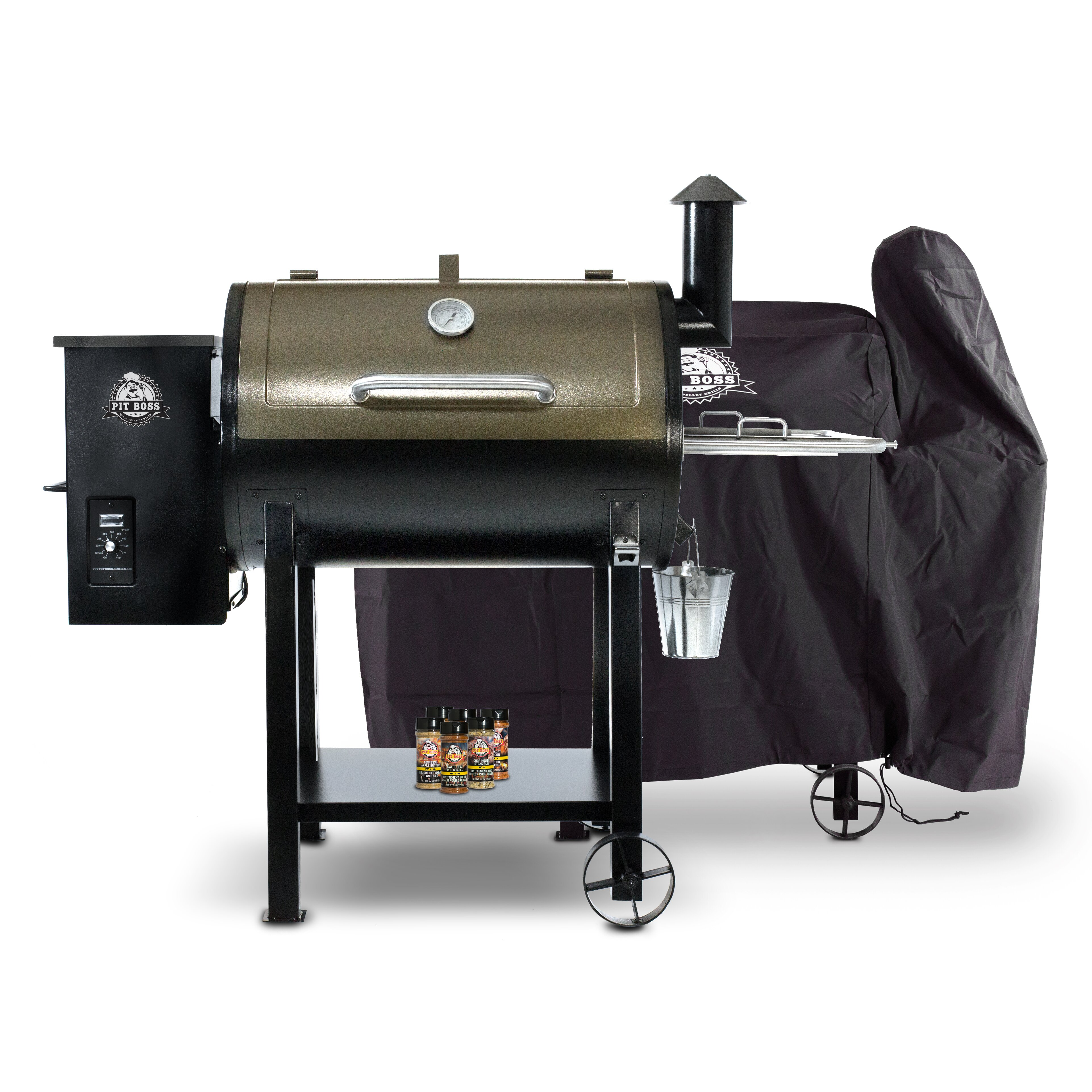 Pit Boss 820d Pellet Grill With Cover And Spice Pack Wayfair