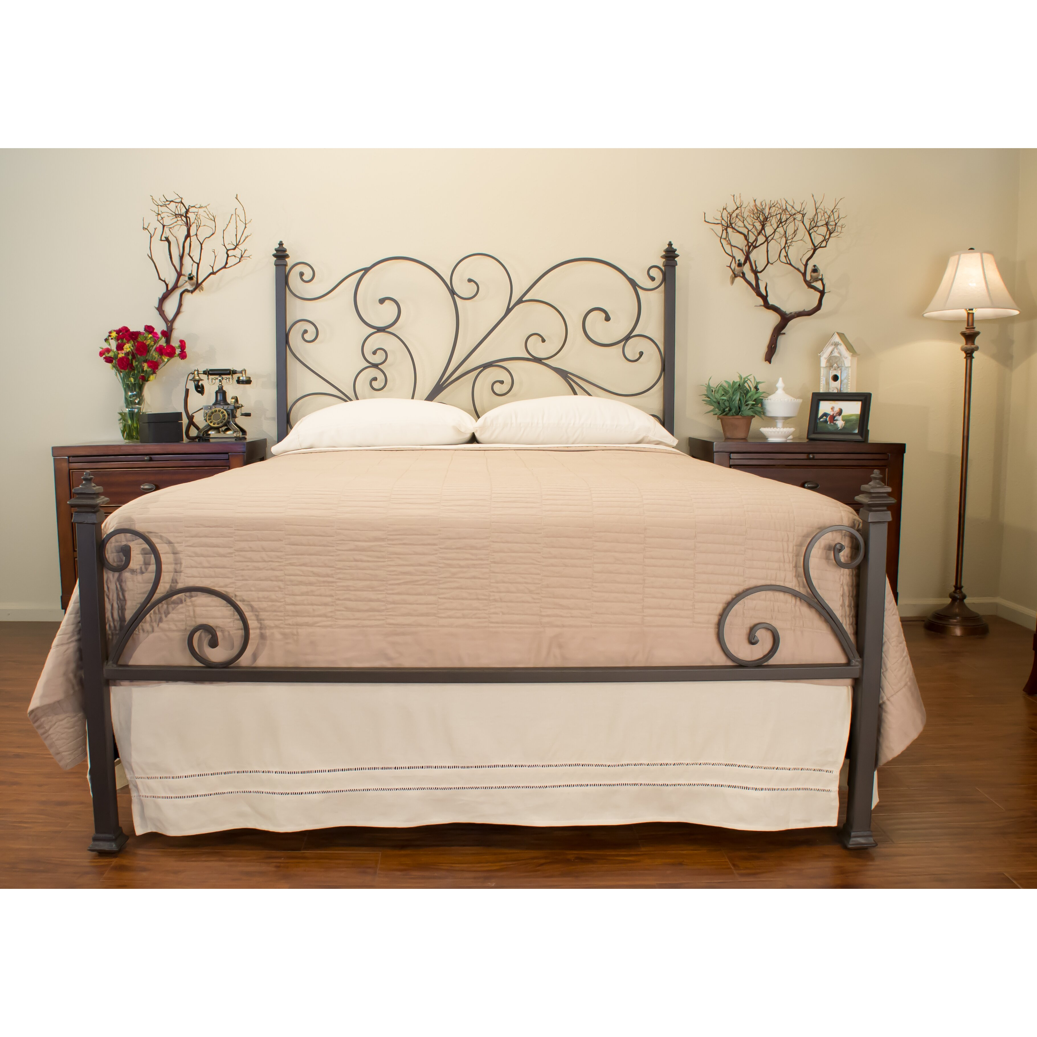 Benicia Foundry And Iron Works Ashley Panel Bed Reviews Wayfair