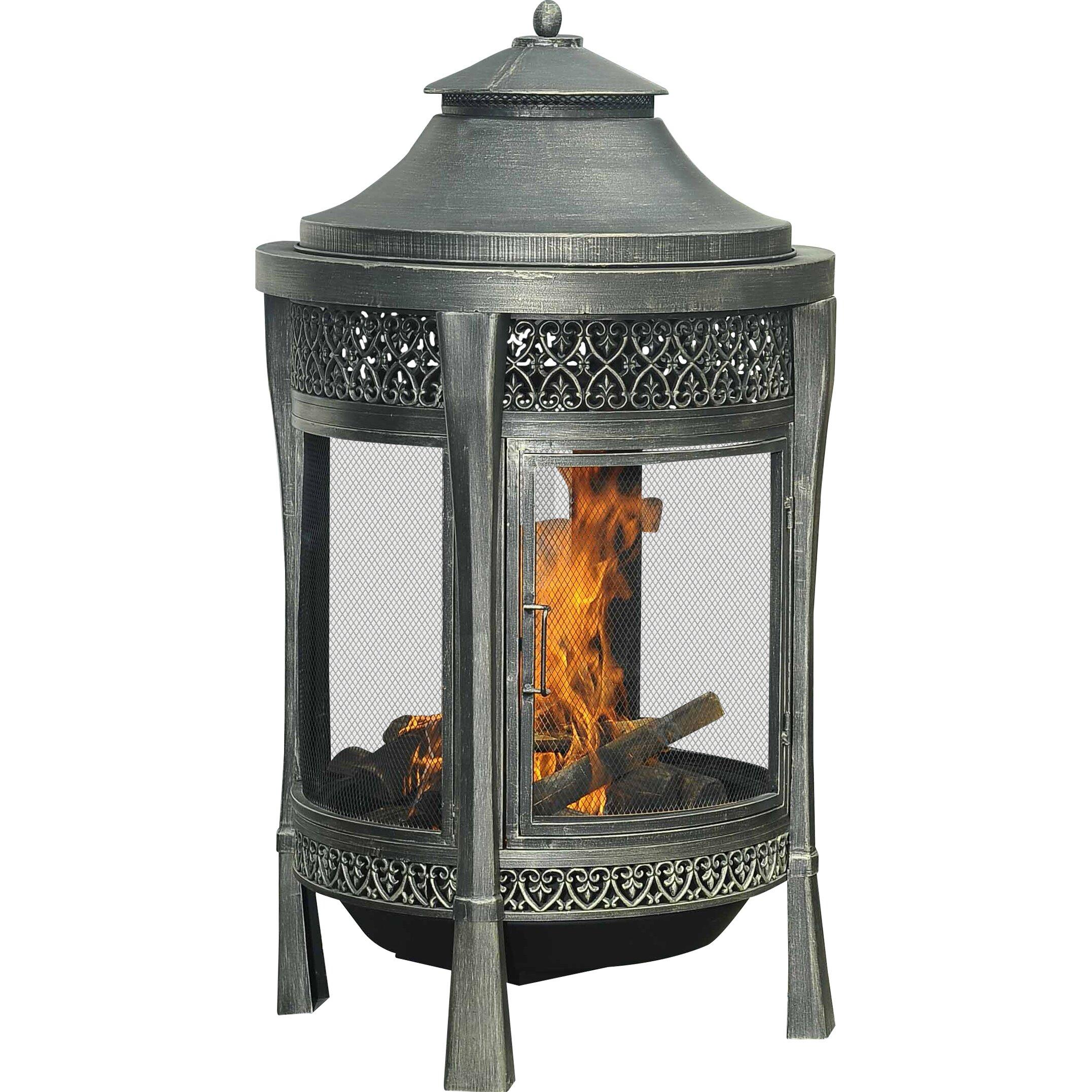 #A56426 Sunjoy Moira Cast Fireplace U0026 Reviews Wayfair Brand New 5631 Sunjoy  Patio Heater Images