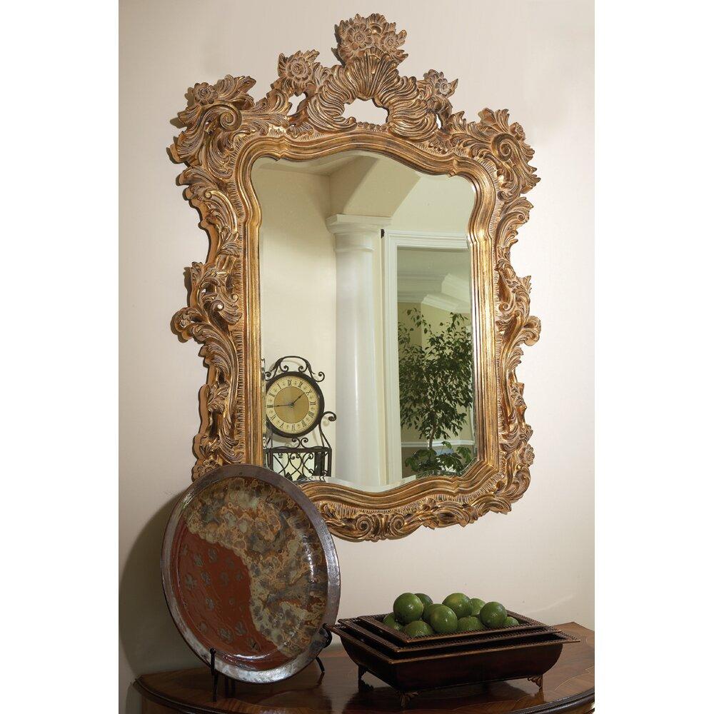 Howard Elliott Ornate Turner Wall Mirror Amp Reviews Wayfair