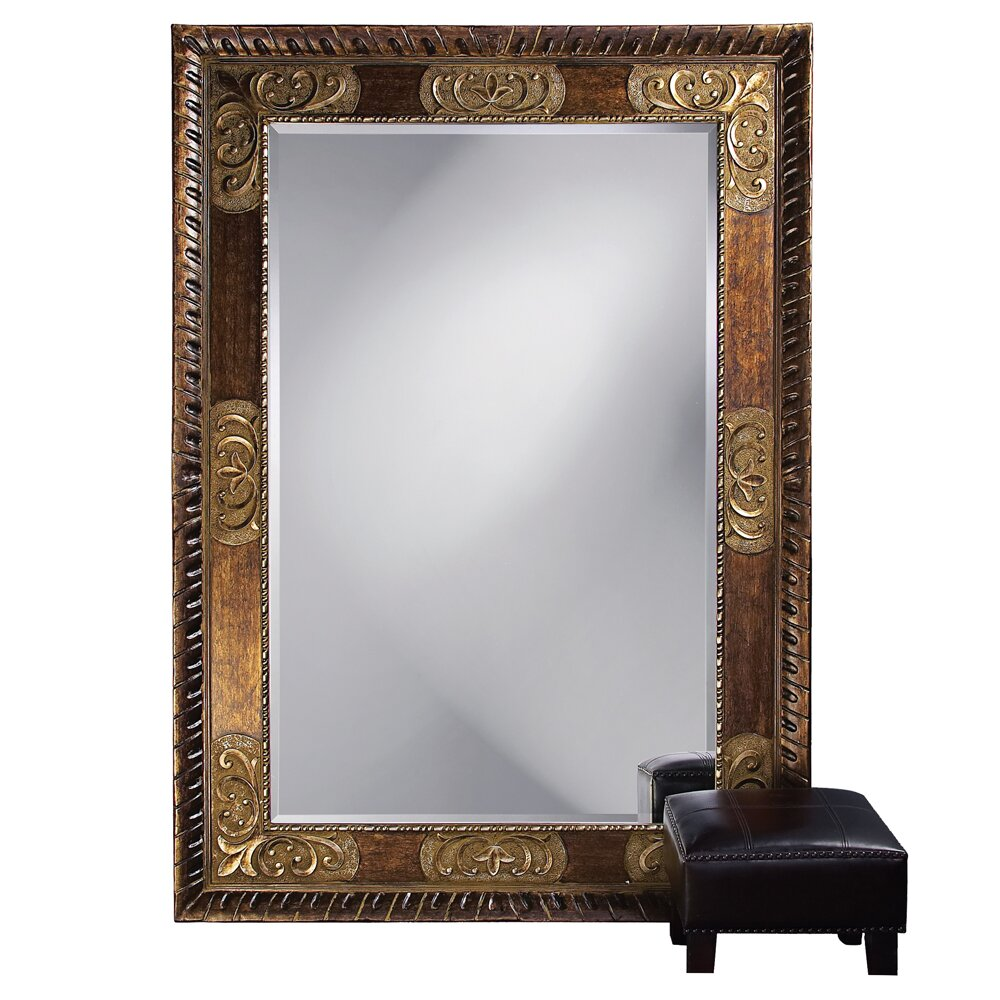 Howard elliott traditional tate leaner mirror reviews for Traditional mirror