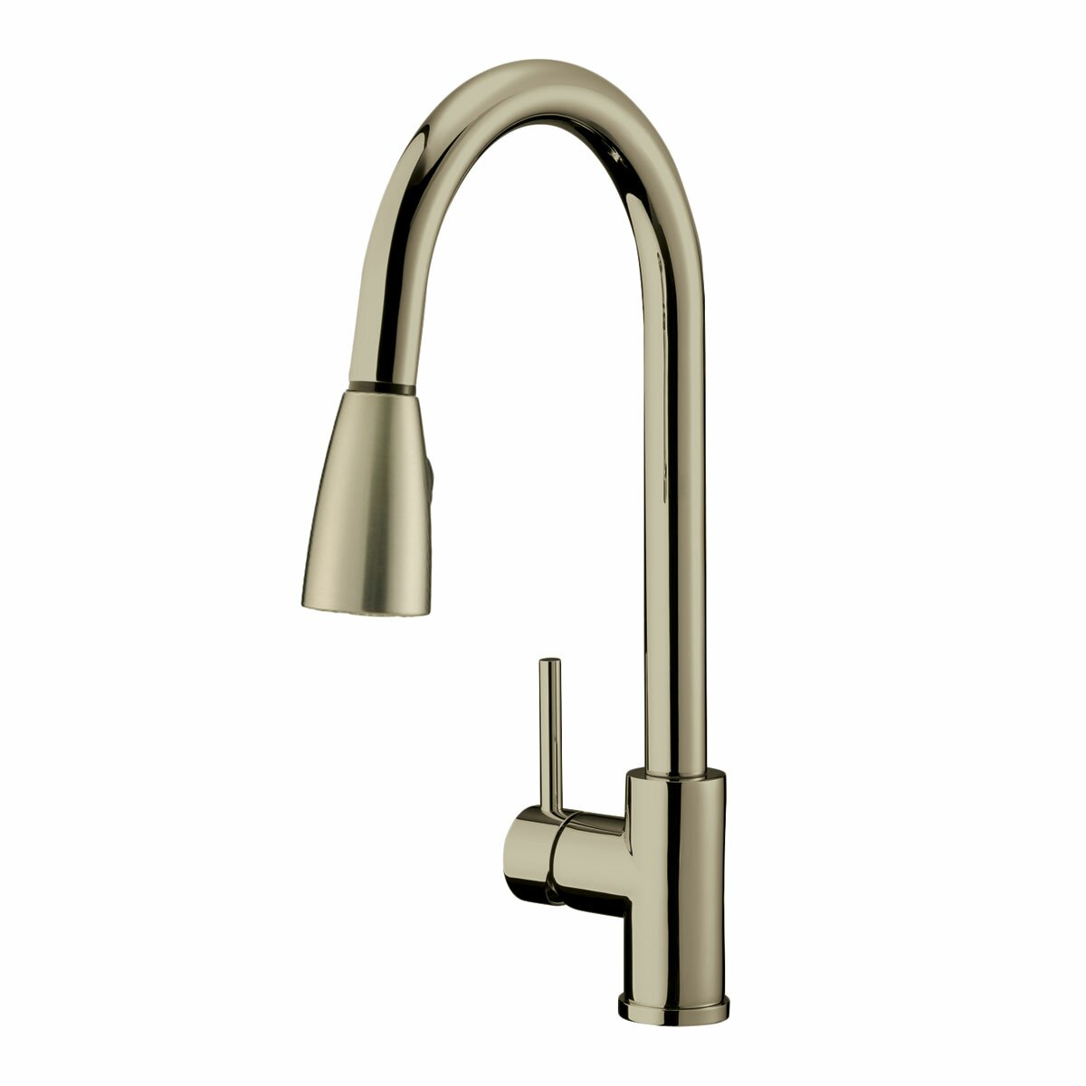 Lesscare Single Handle Pull Down Kitchen Faucet Reviews Wayfair