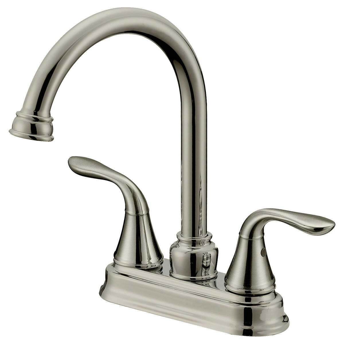 Lesscare double handle long neck bathroom faucet reviews - Long bathroom sink with two faucets ...