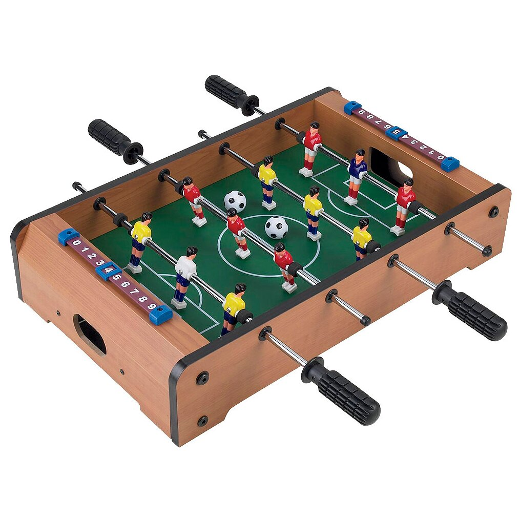 Trademark Games Mini Table Top Foosball & Accessories & Reviews | Wayfair
