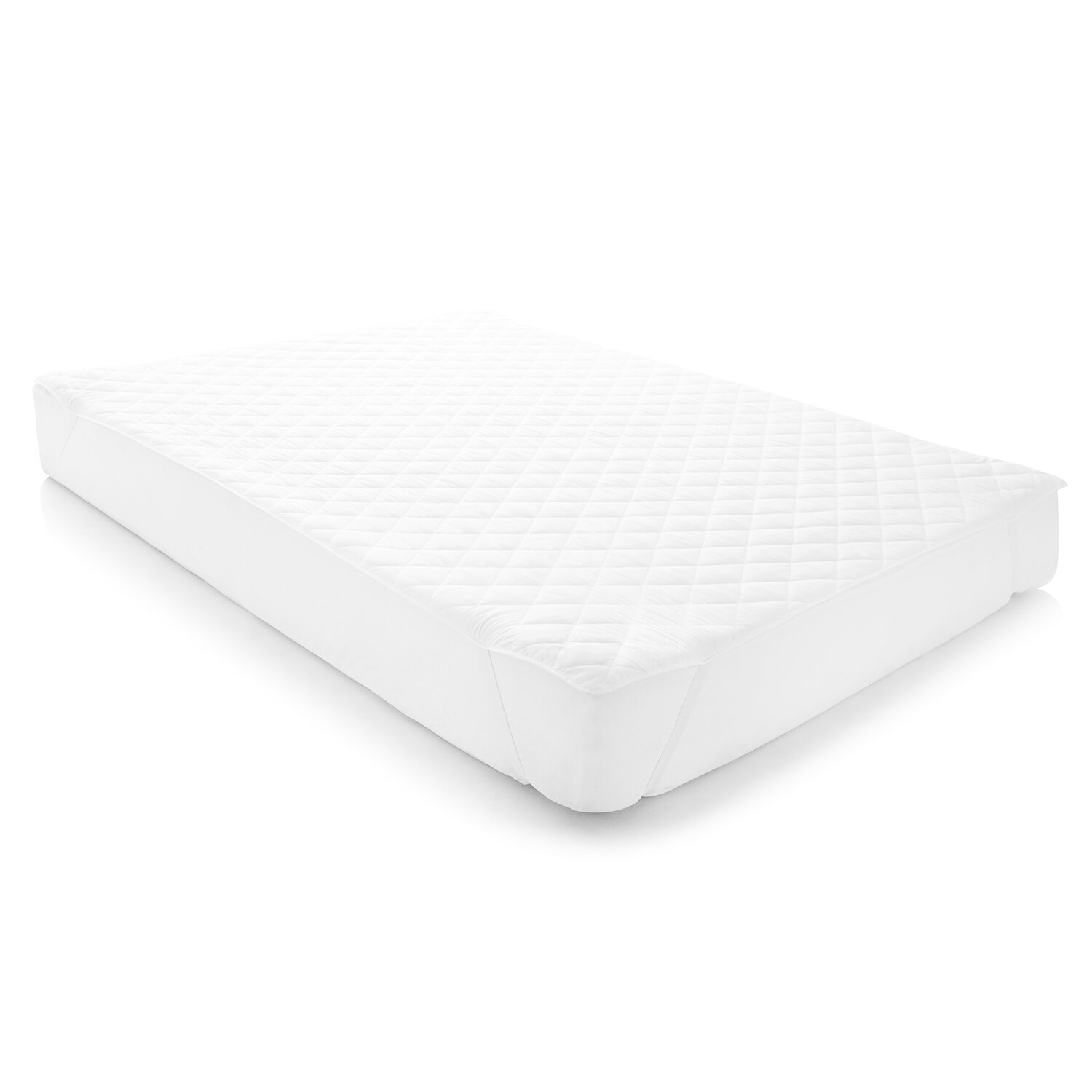 Linenspa Waterproof Mattress Pad With Quilted Microfiber