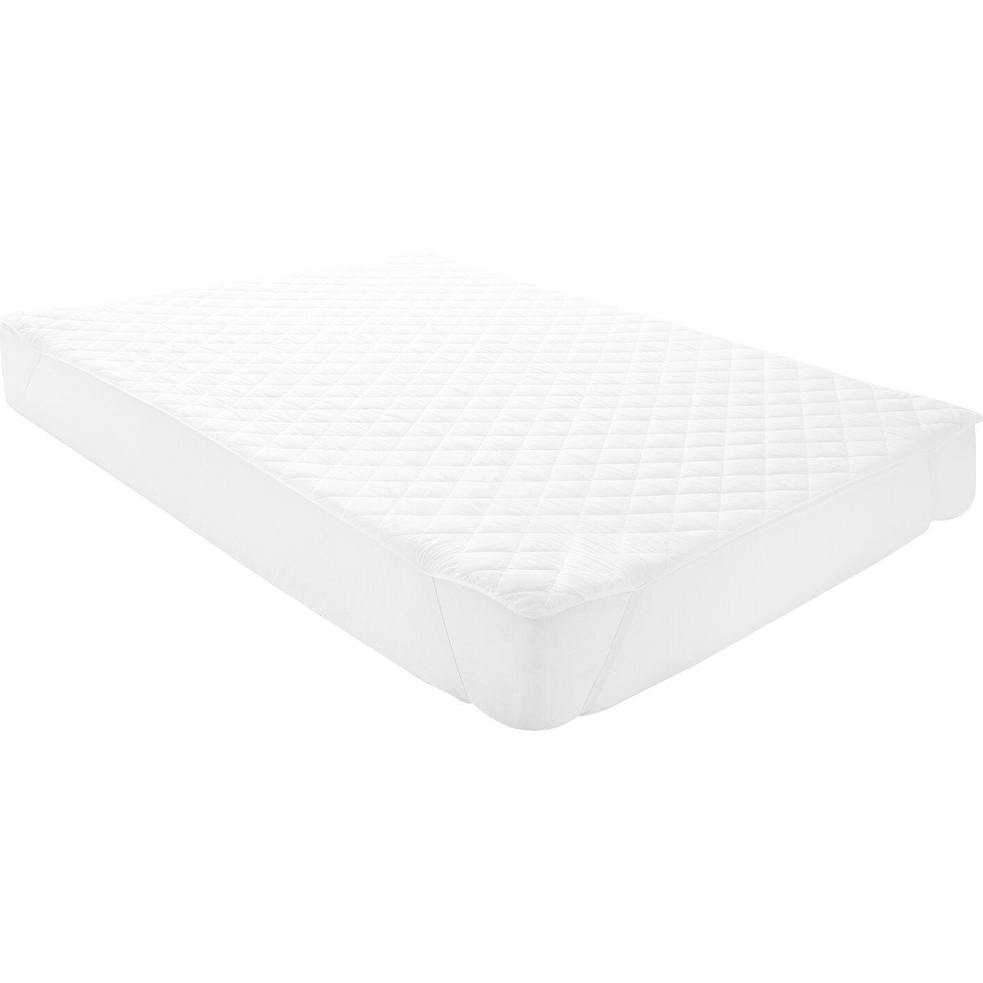 Microfiber Mattress Pad: Linenspa Waterproof Mattress Pad With Quilted Microfiber