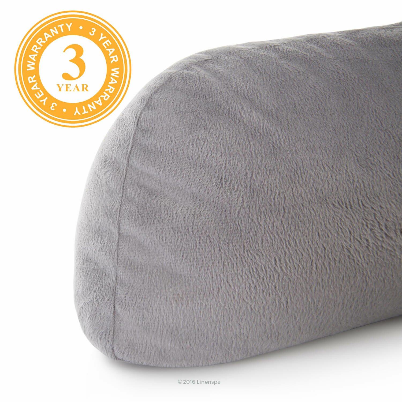 linenspa plush bed rest pillow wayfair