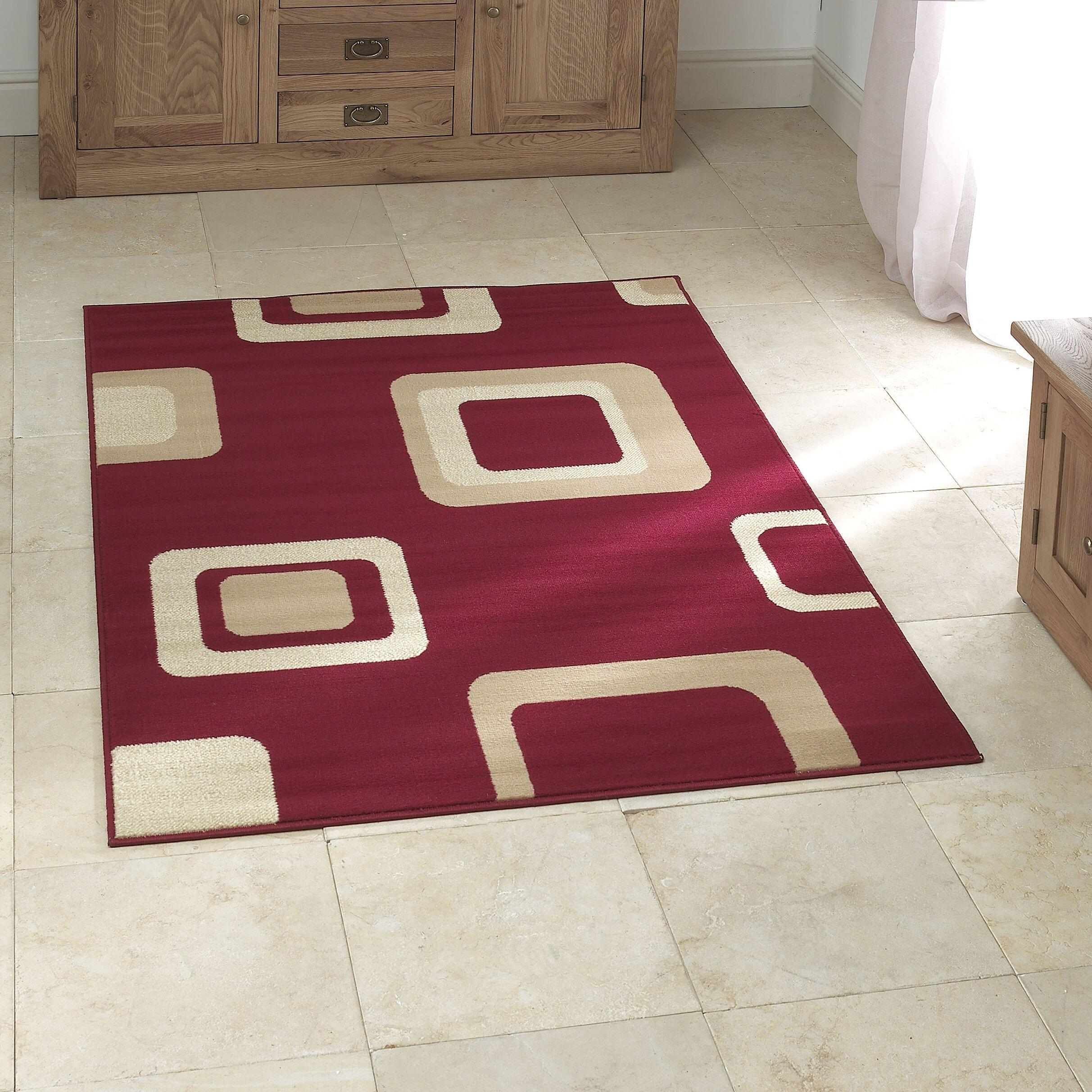 Wayfair Basics Red Area Rug & Reviews