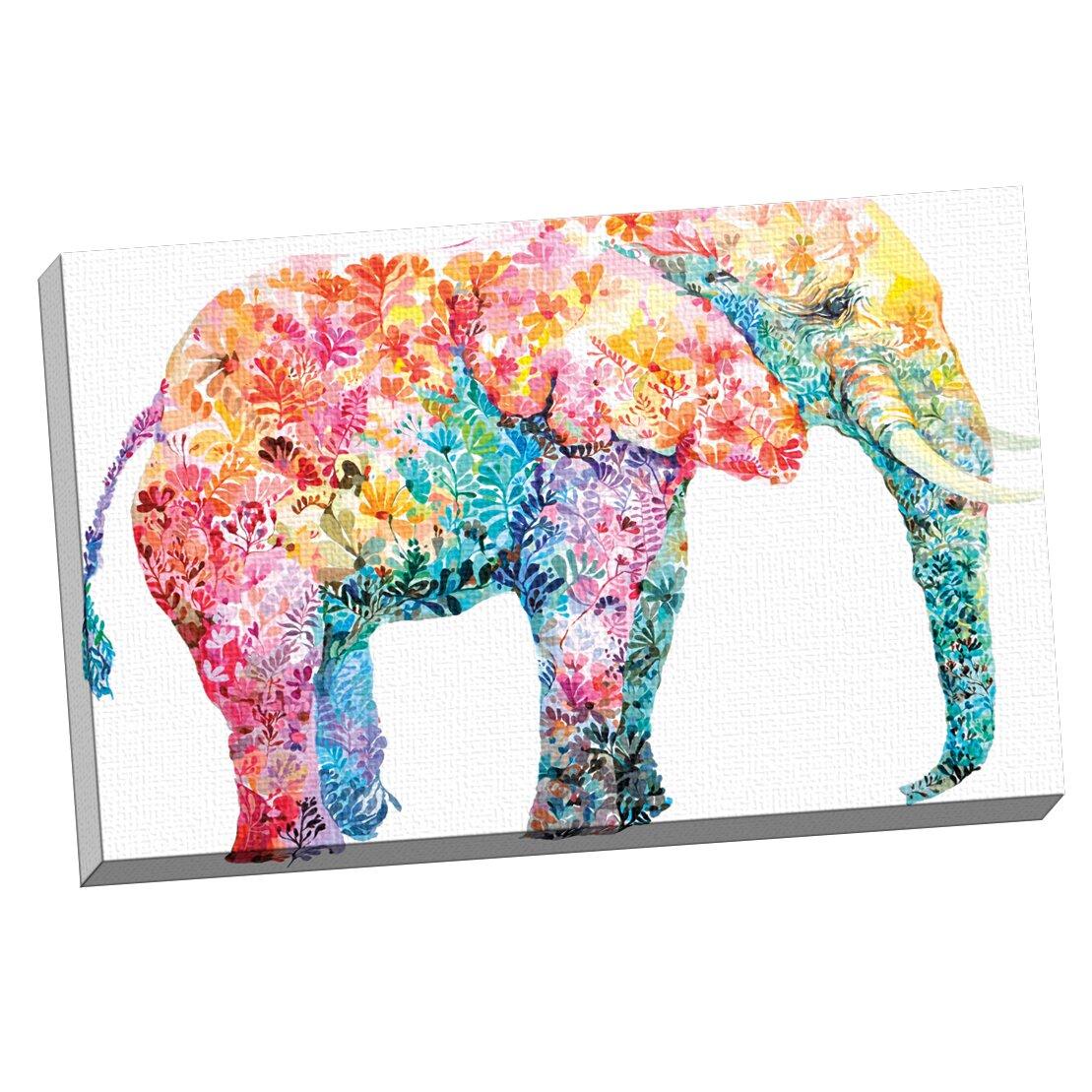 Portfolio canvas quotelephant gumquot by maria varela painting for Elephant wall art