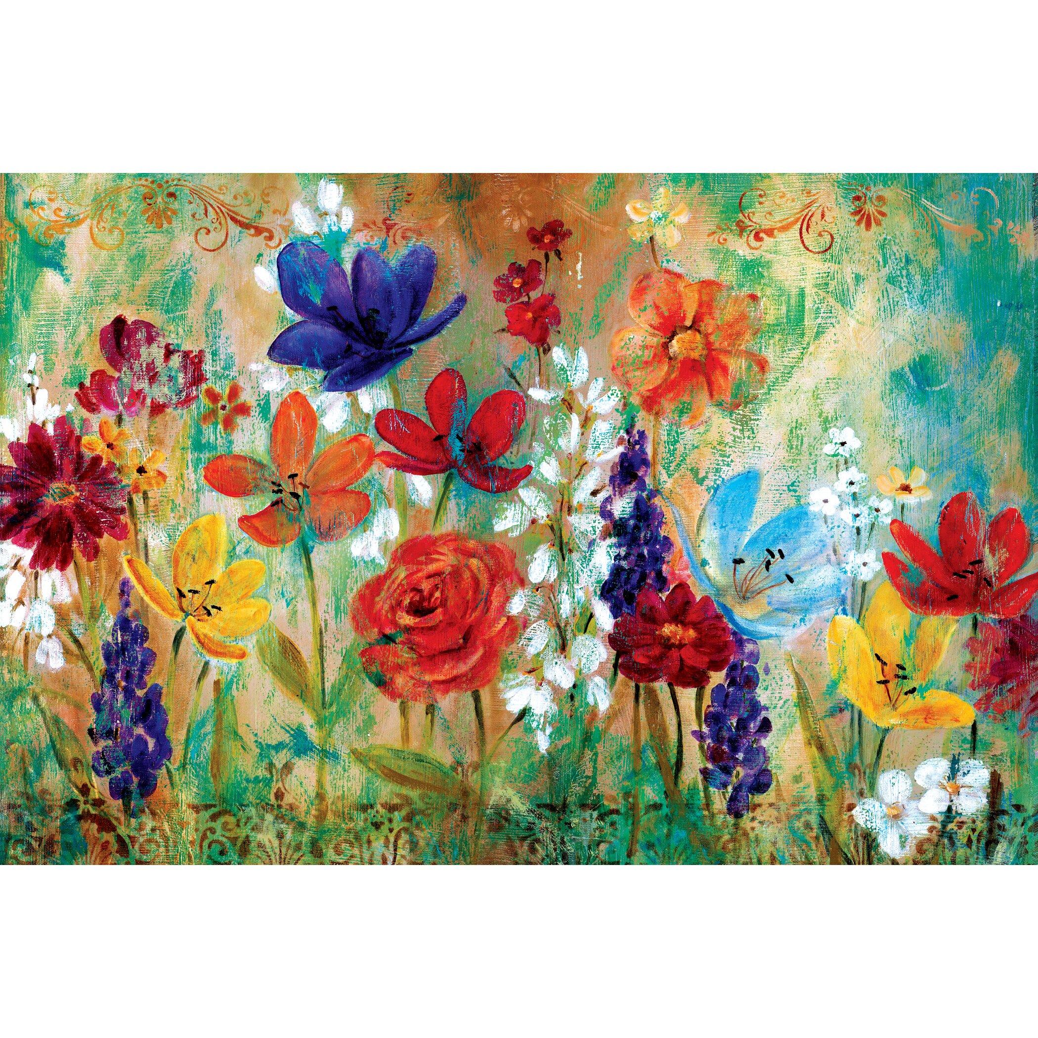 Portfolio Canvas Wildflower Fresco I By E Franklin
