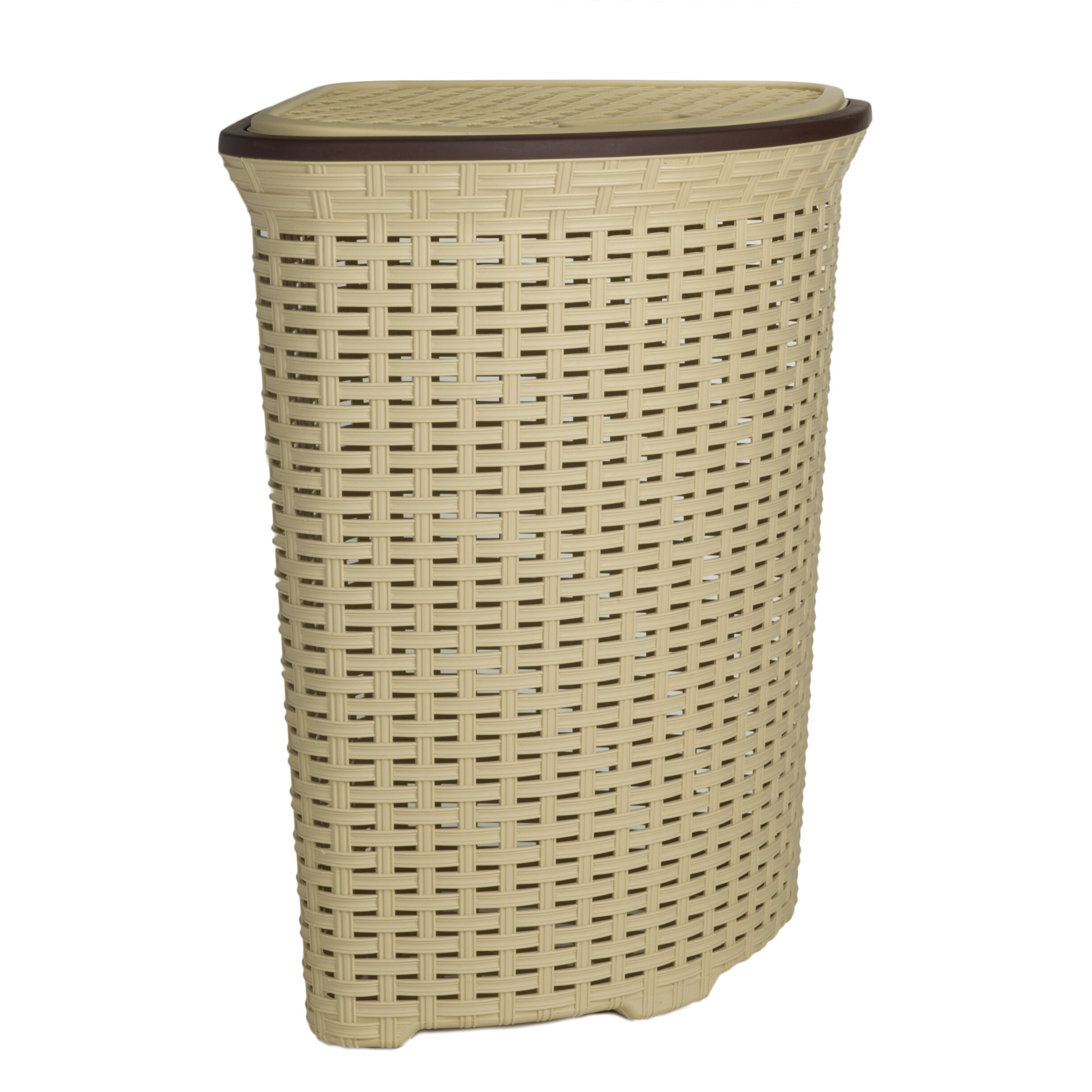 Superior performance superio brand wicker laundry hamper reviews wayfair - Wicker clothes hamper ...
