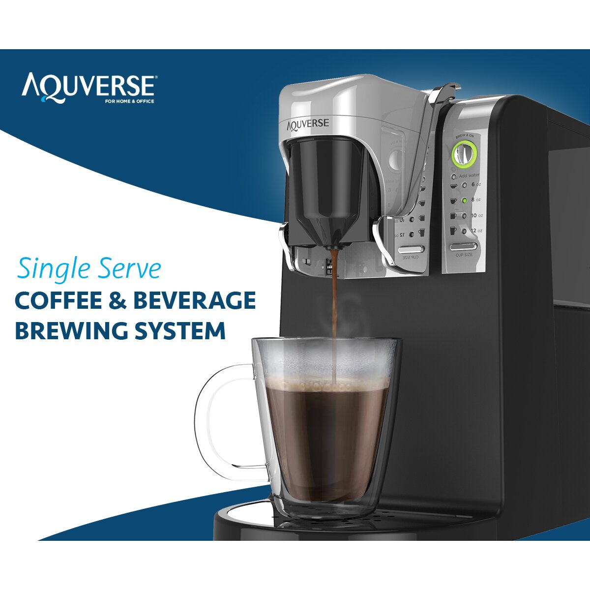 Aquverse Single Serve Coffee Maker | Wayfair