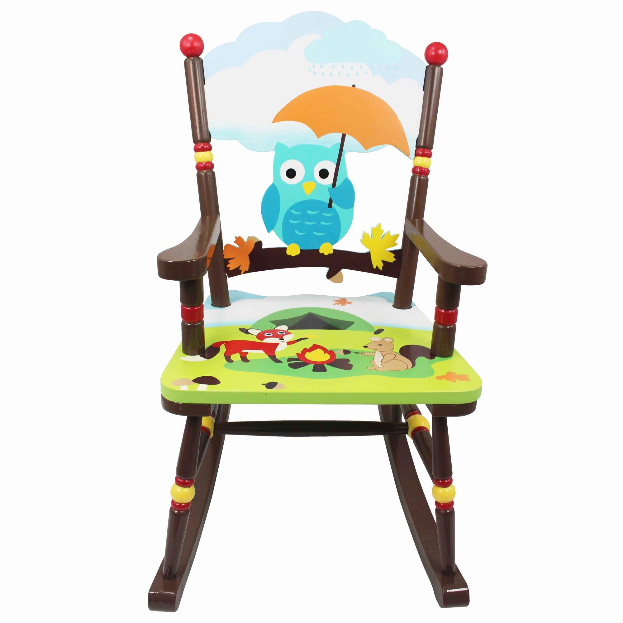 ... Fields Enchanted Woodland Kids Rocking Chair & Reviews  Wayfair
