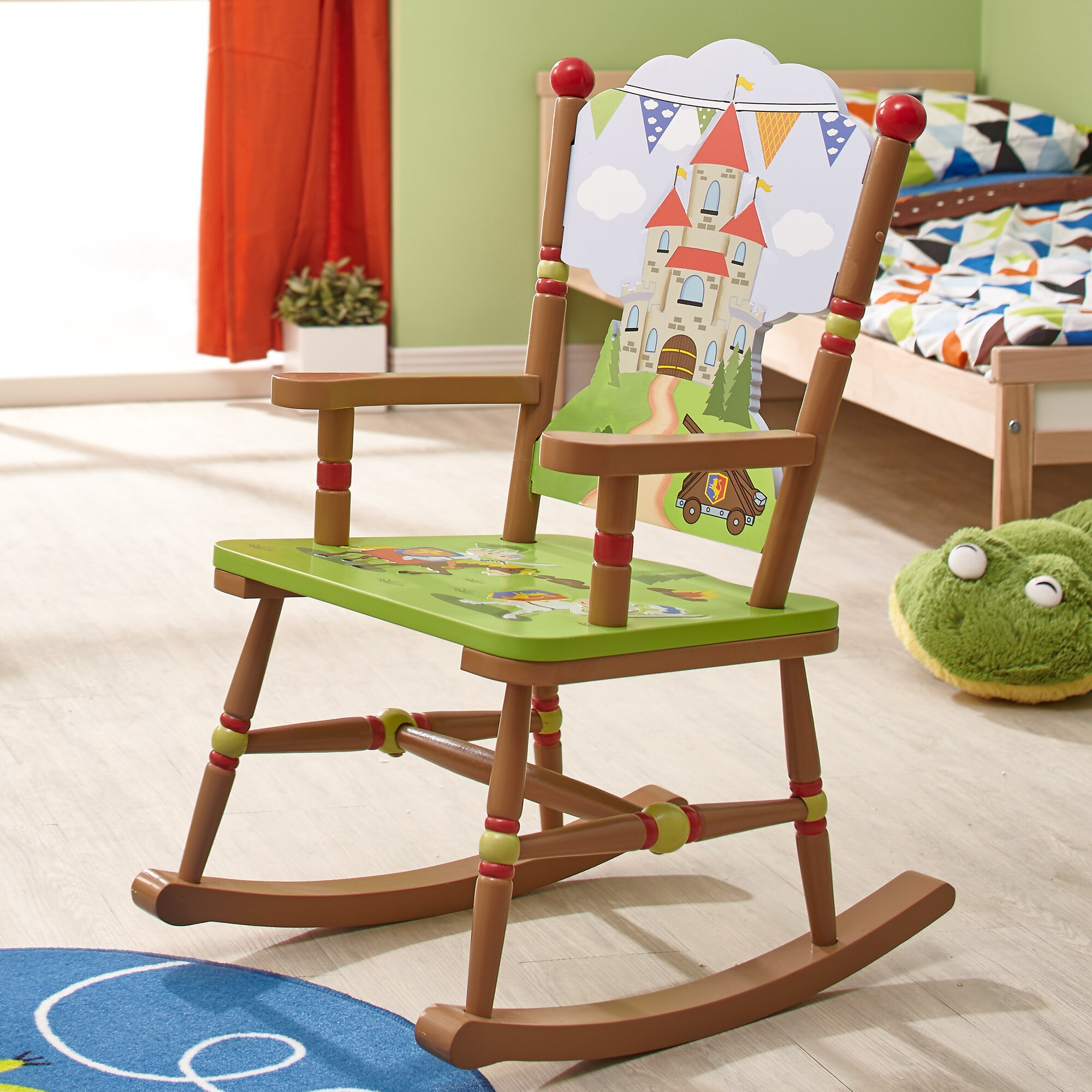 Fantasy Fields Knights & Dragons Kids Rocking Chair  Wayfair