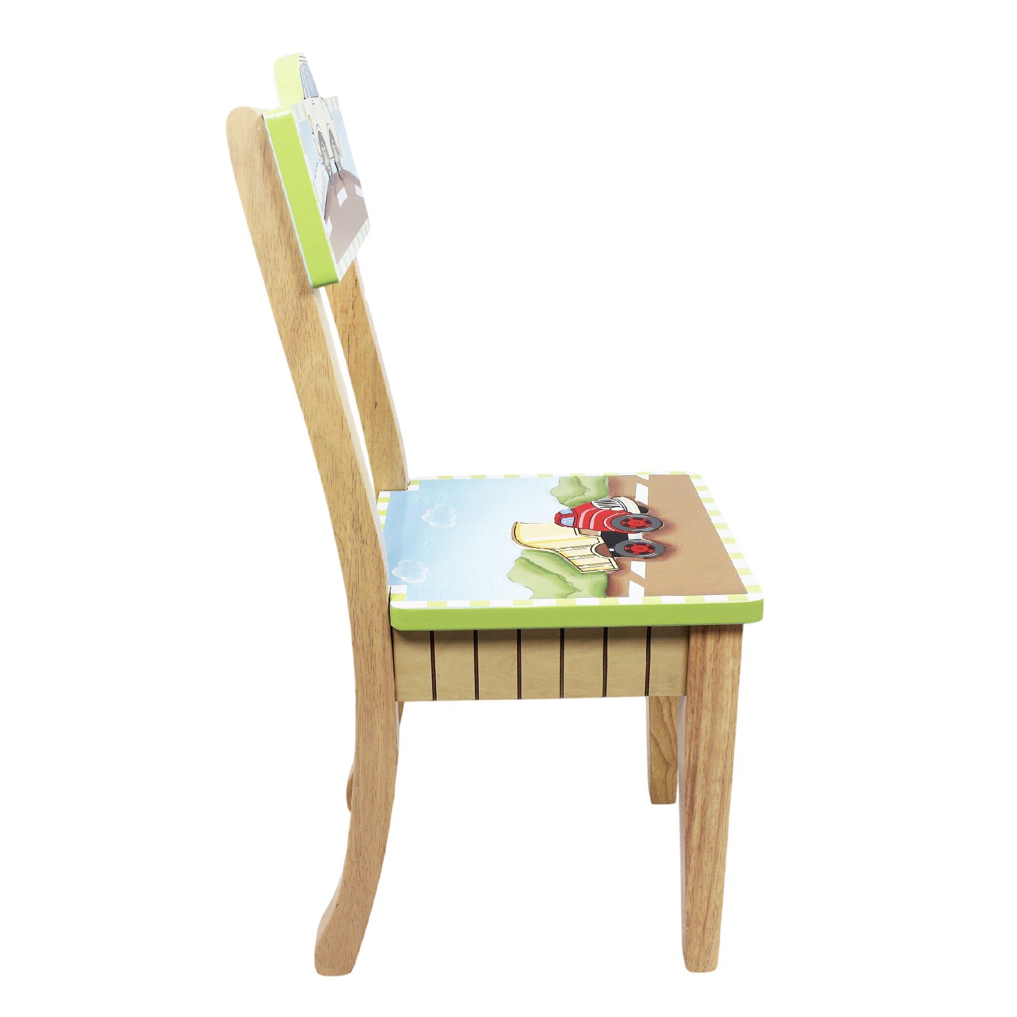 Fantasy Fields Transportation Kids Desk Chair & Reviews