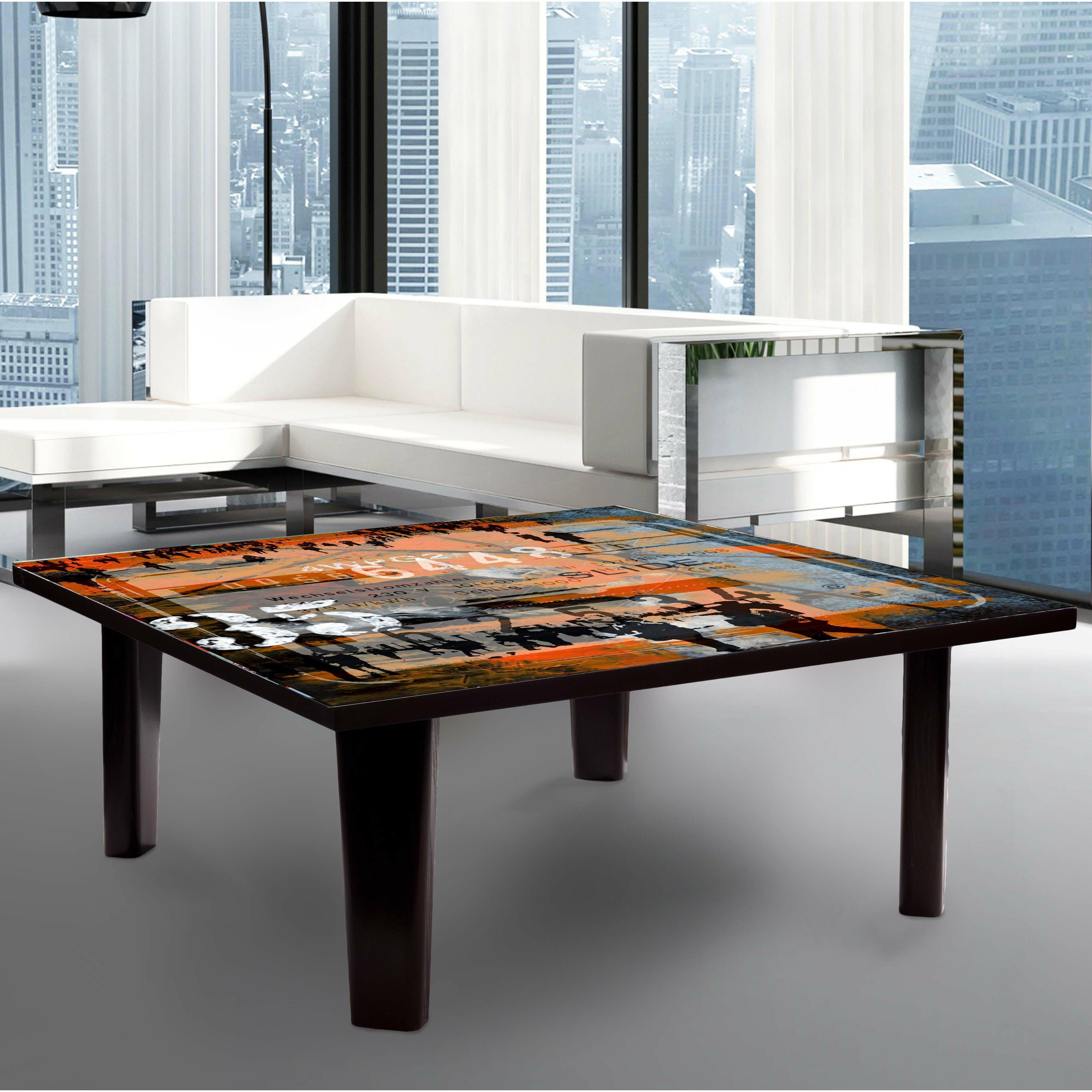 taf decor coffee table wayfair. Black Bedroom Furniture Sets. Home Design Ideas