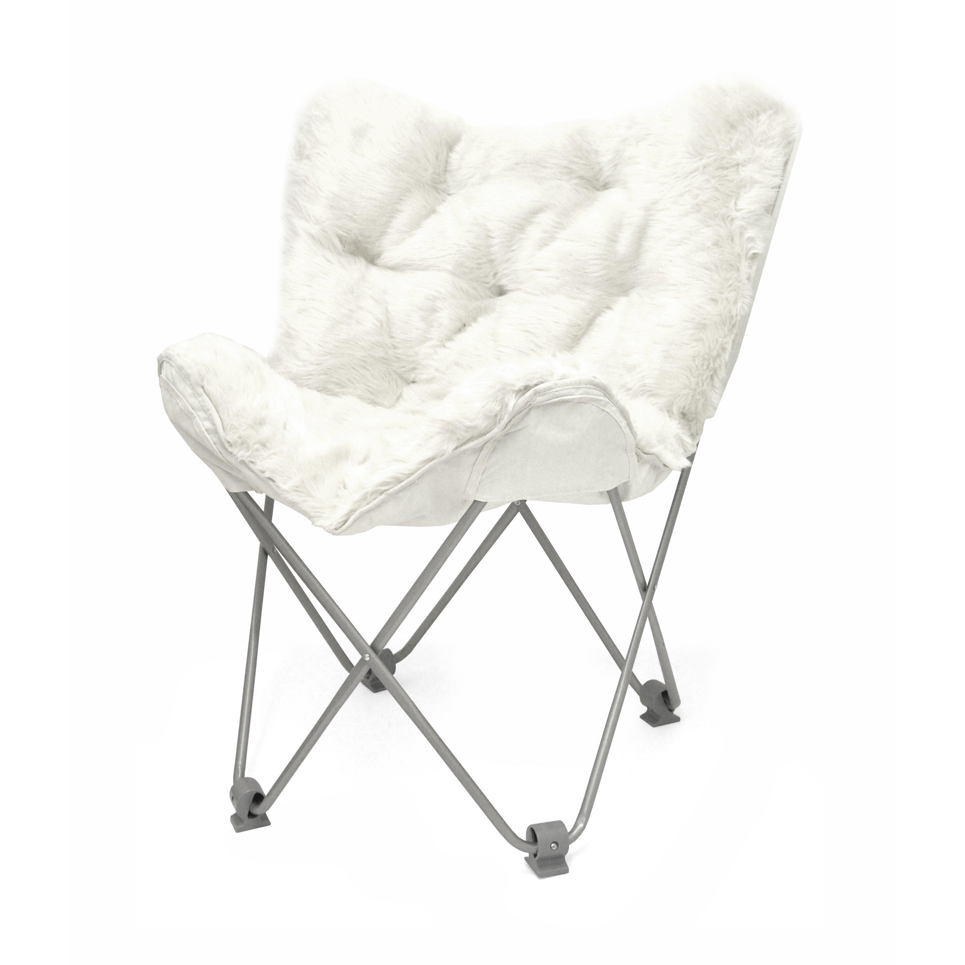 Idea Nuova Urban Shop Mongolian Butterfly Lounge Chair & Reviews