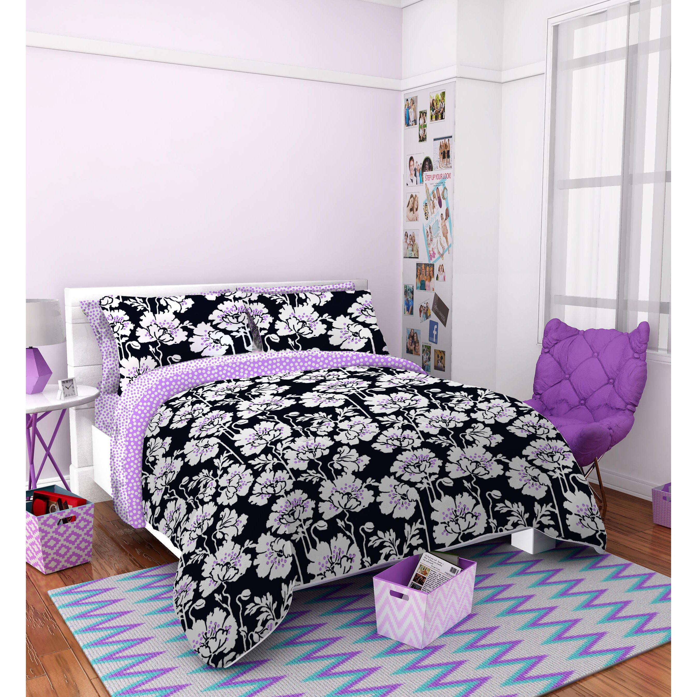best 28 seventeen comforter set seventeen 174 suri. Black Bedroom Furniture Sets. Home Design Ideas