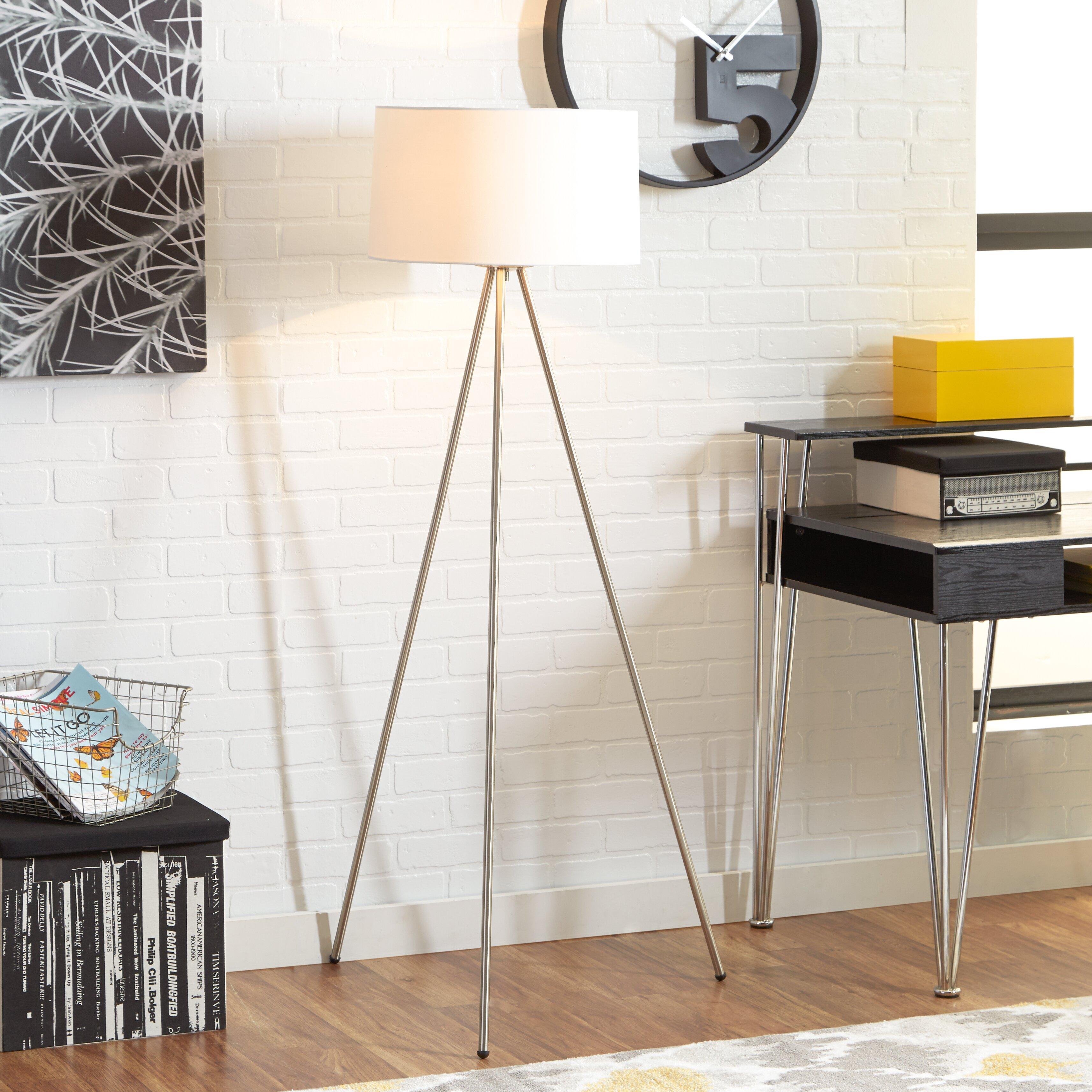 Zipcode Design Monique 59 5 Quot Tripod Floor Lamp Amp Reviews