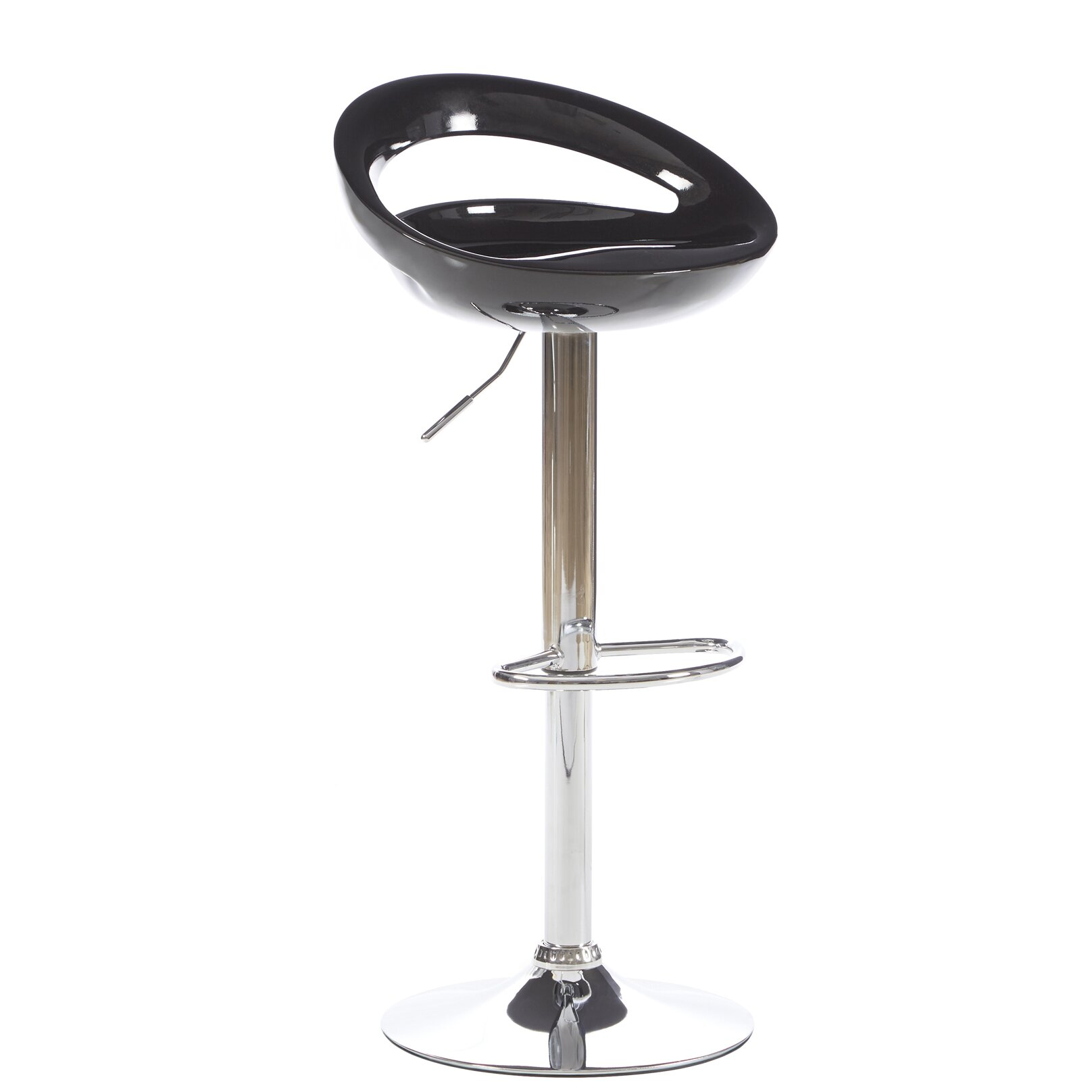 Zipcode™ Design Delaney Adjustable Height Swivel Bar Stool & Reviews | Wayfair