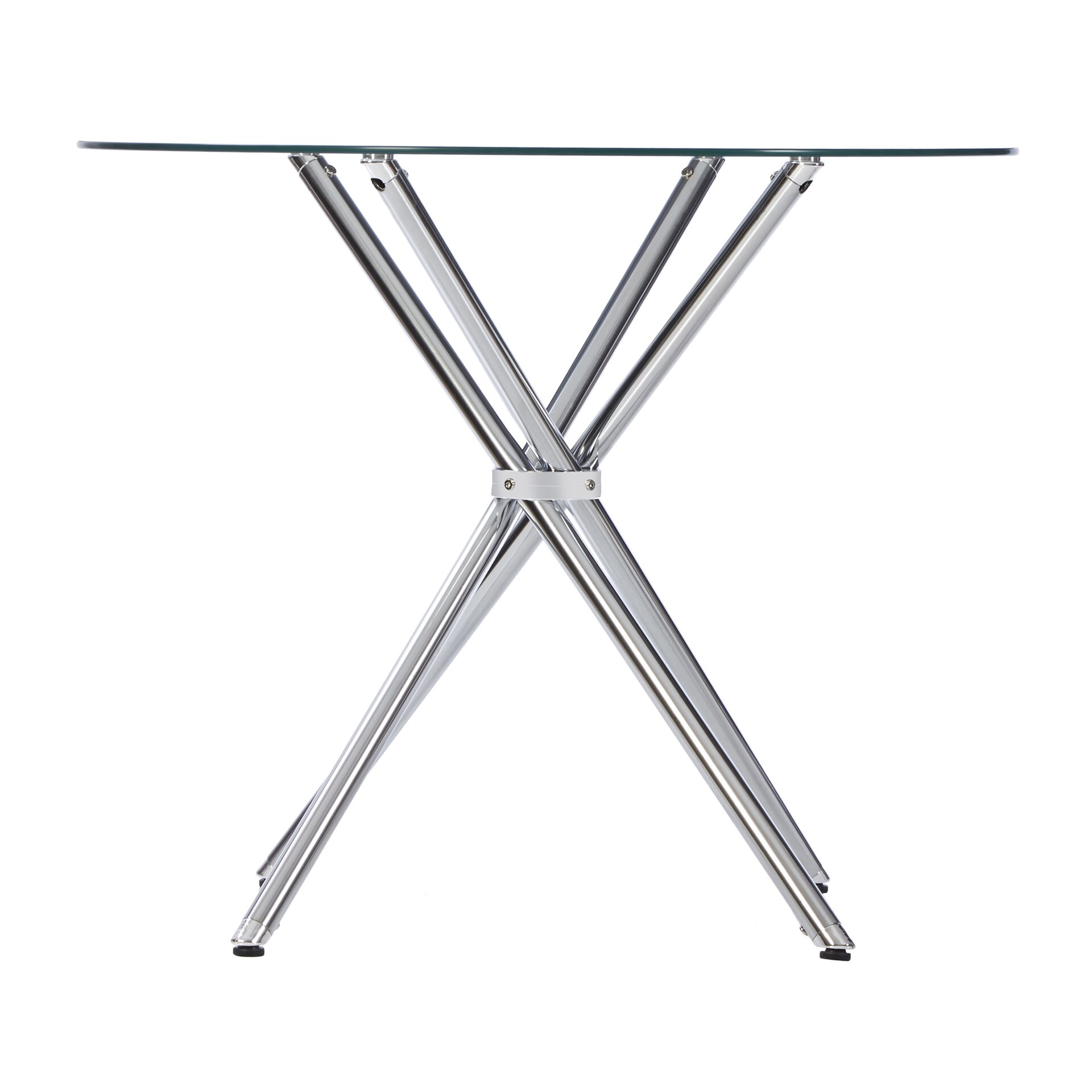 Zipcode Design Vince Glass Round Dining Table amp Reviews  : Caf25C325A92BTable from www.wayfair.com size 1920 x 1920 jpeg 196kB