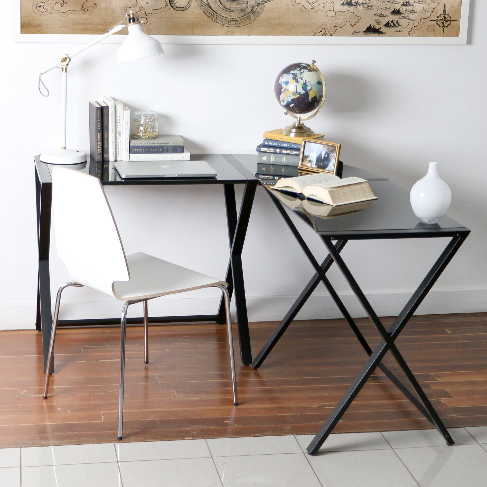 Corner Computer Desk: Zipcode™ Design Juliana Corner Computer Desk & Reviews