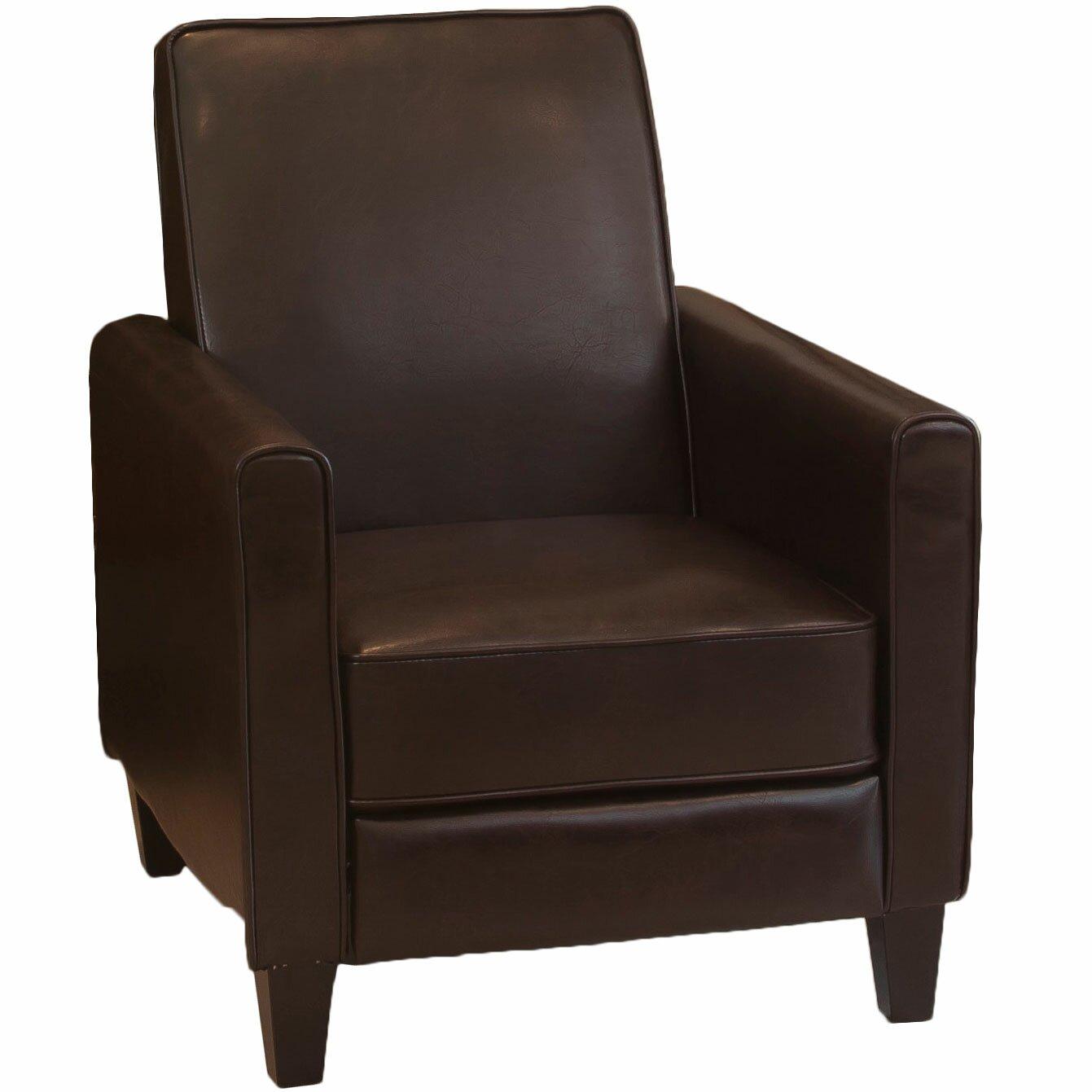 Zipcode design lana reclining club chair reviews for Recliner chair