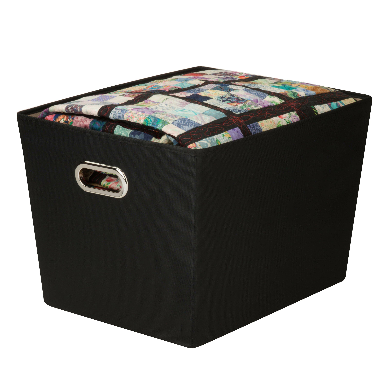 Zipcode Design Decorative Storage Bin With Handles