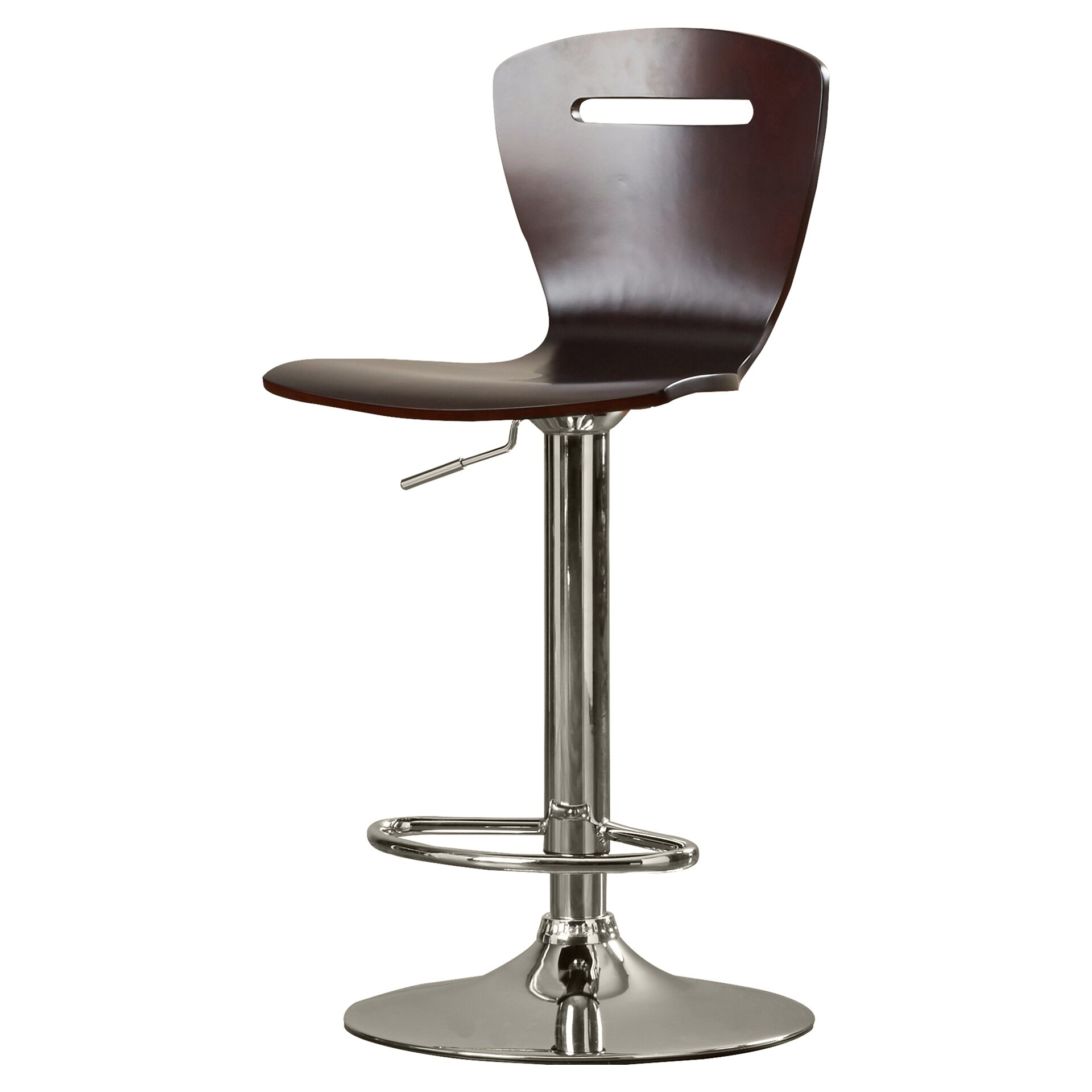 Zipcode design sloane adjustable height swivel bar stool for Counter height swivel bar stools