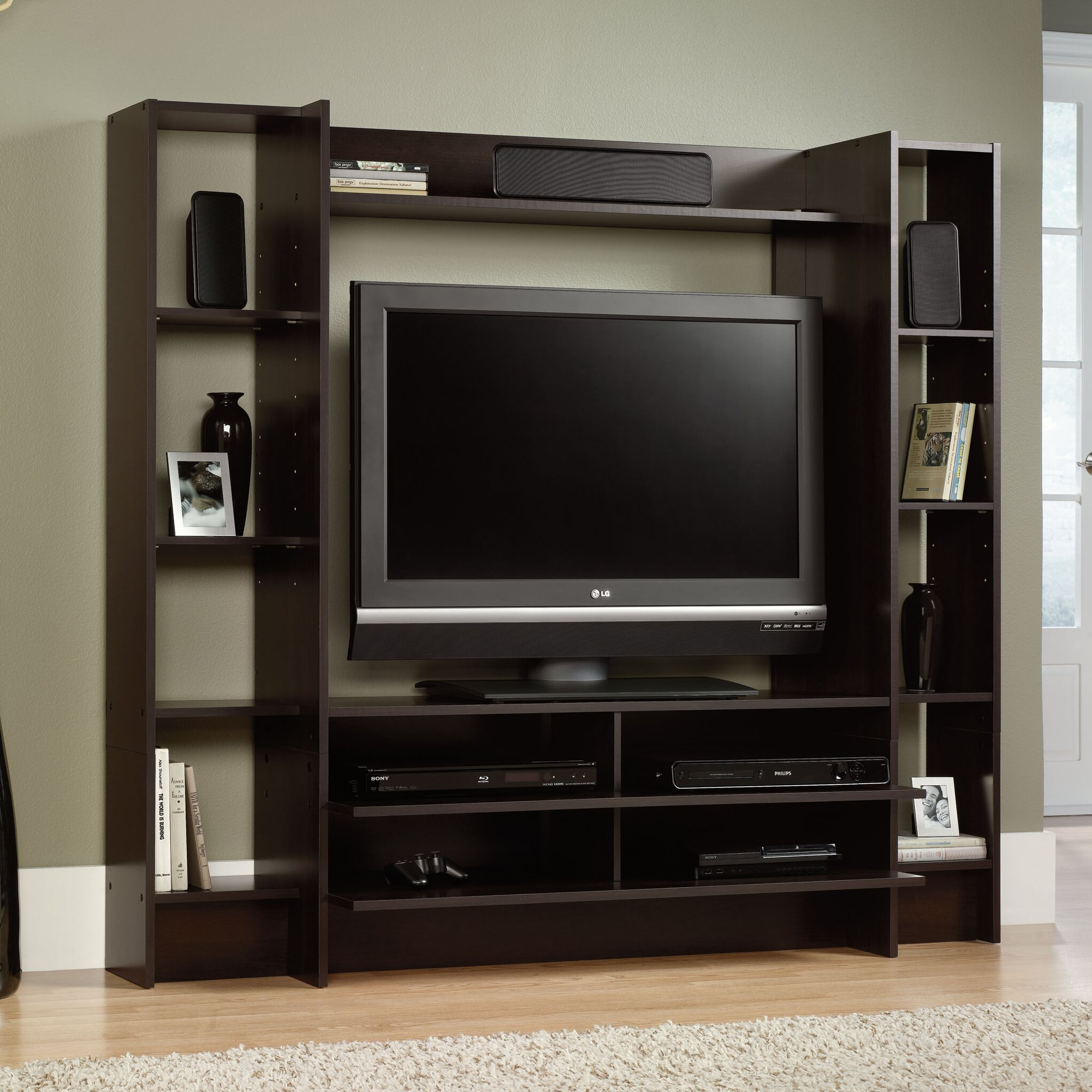 Zipcode design angelica entertainment center reviews wayfair - Angelica kitchen delivery ...