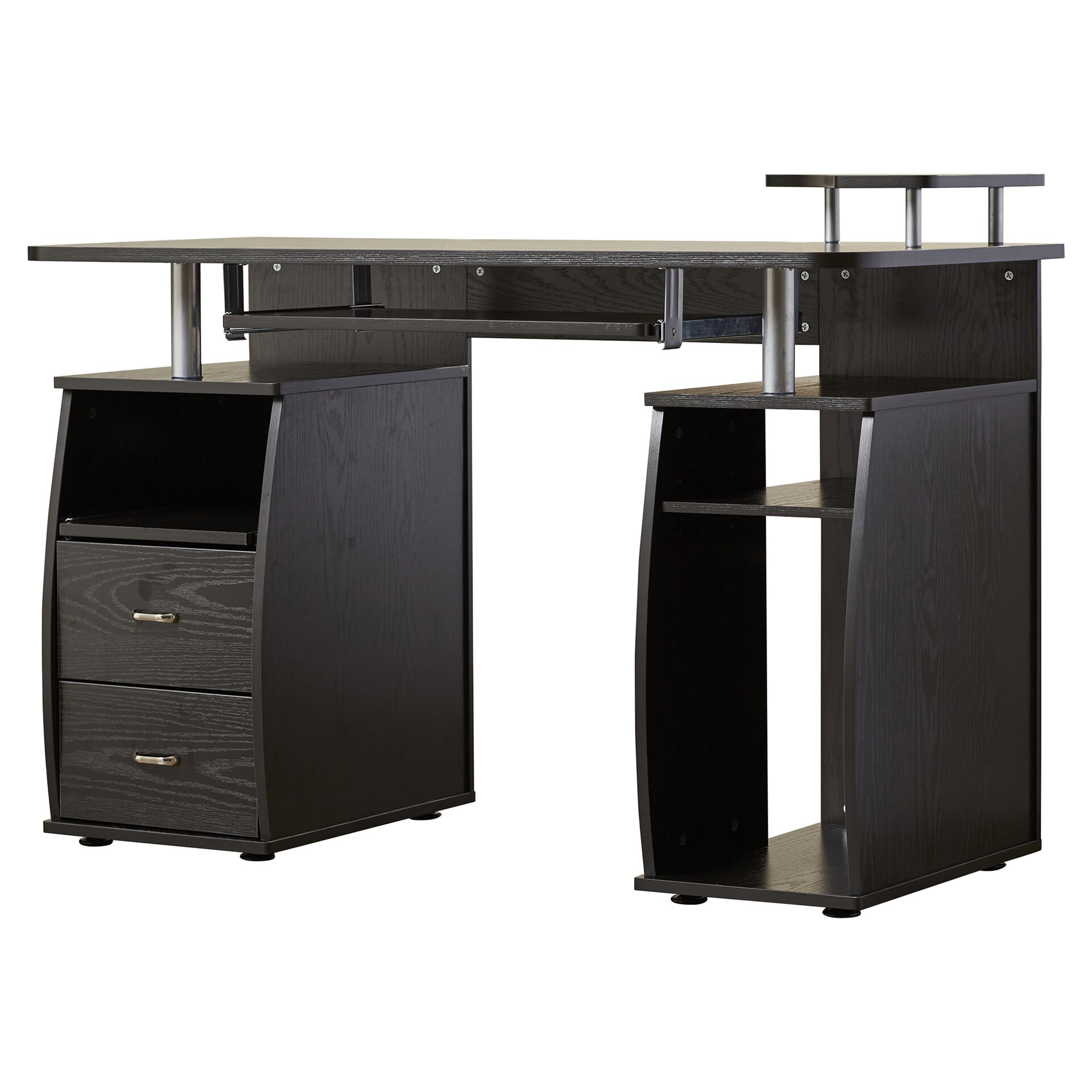 zipcode design jasper computer desk reviews wayfair. Black Bedroom Furniture Sets. Home Design Ideas