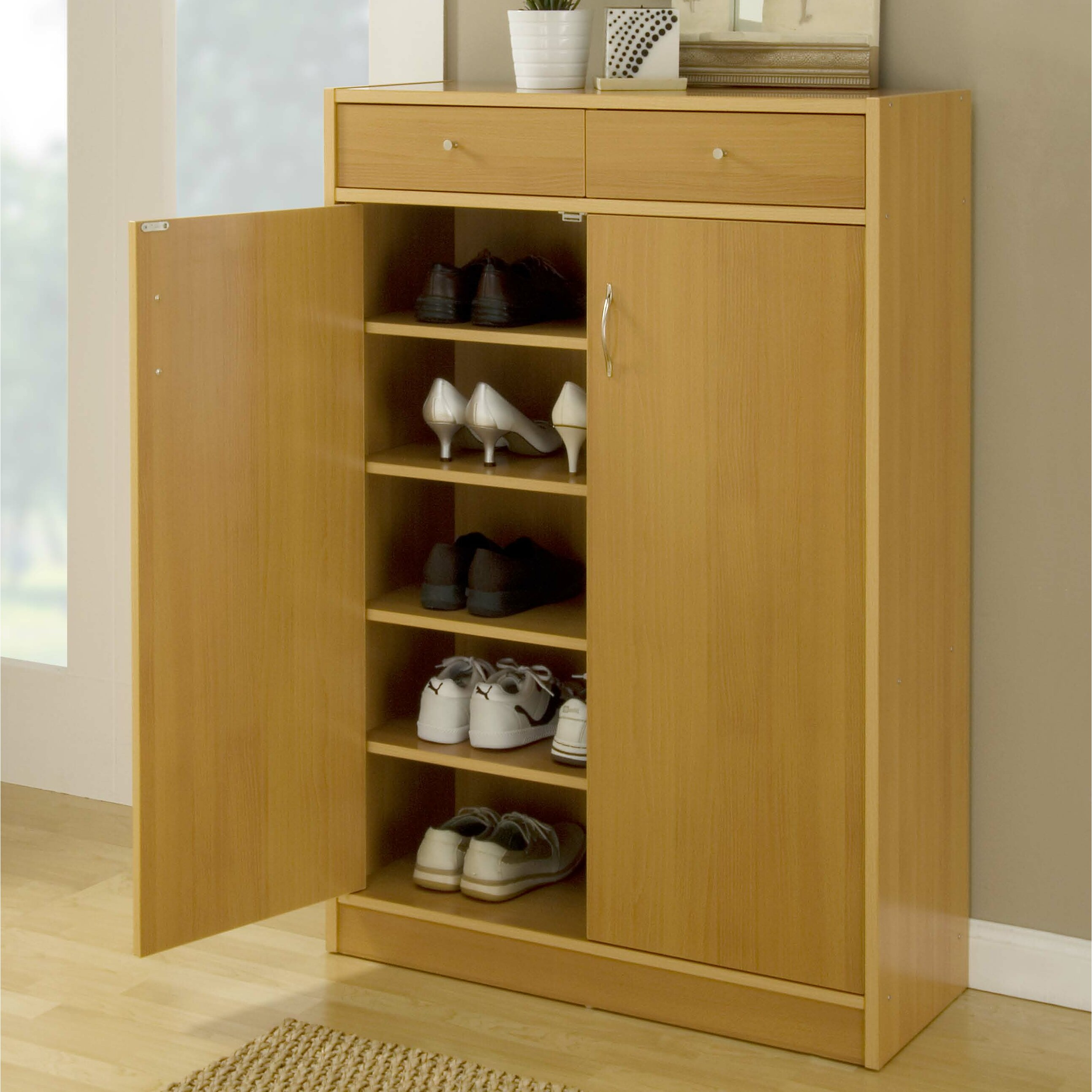 Entryway Inspiration Zipcode Design Lori 20 Pair Shoe Storage Cabinet